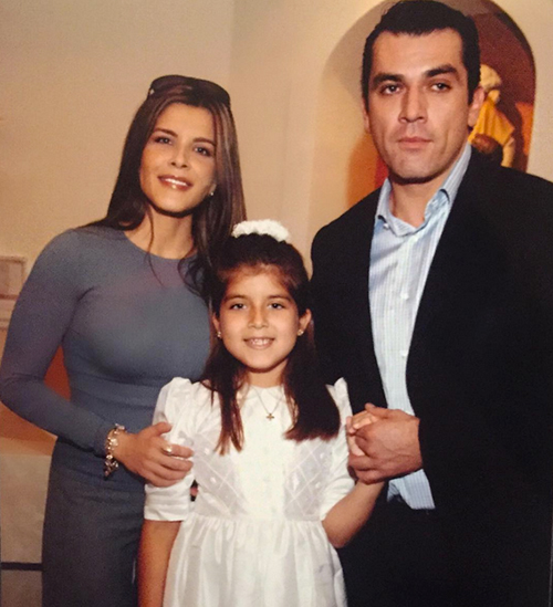 Gabriella Cataño-Salinas y Jorge Salinas
