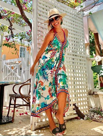 Lili Estefan, looks, bahamas, vacaciones