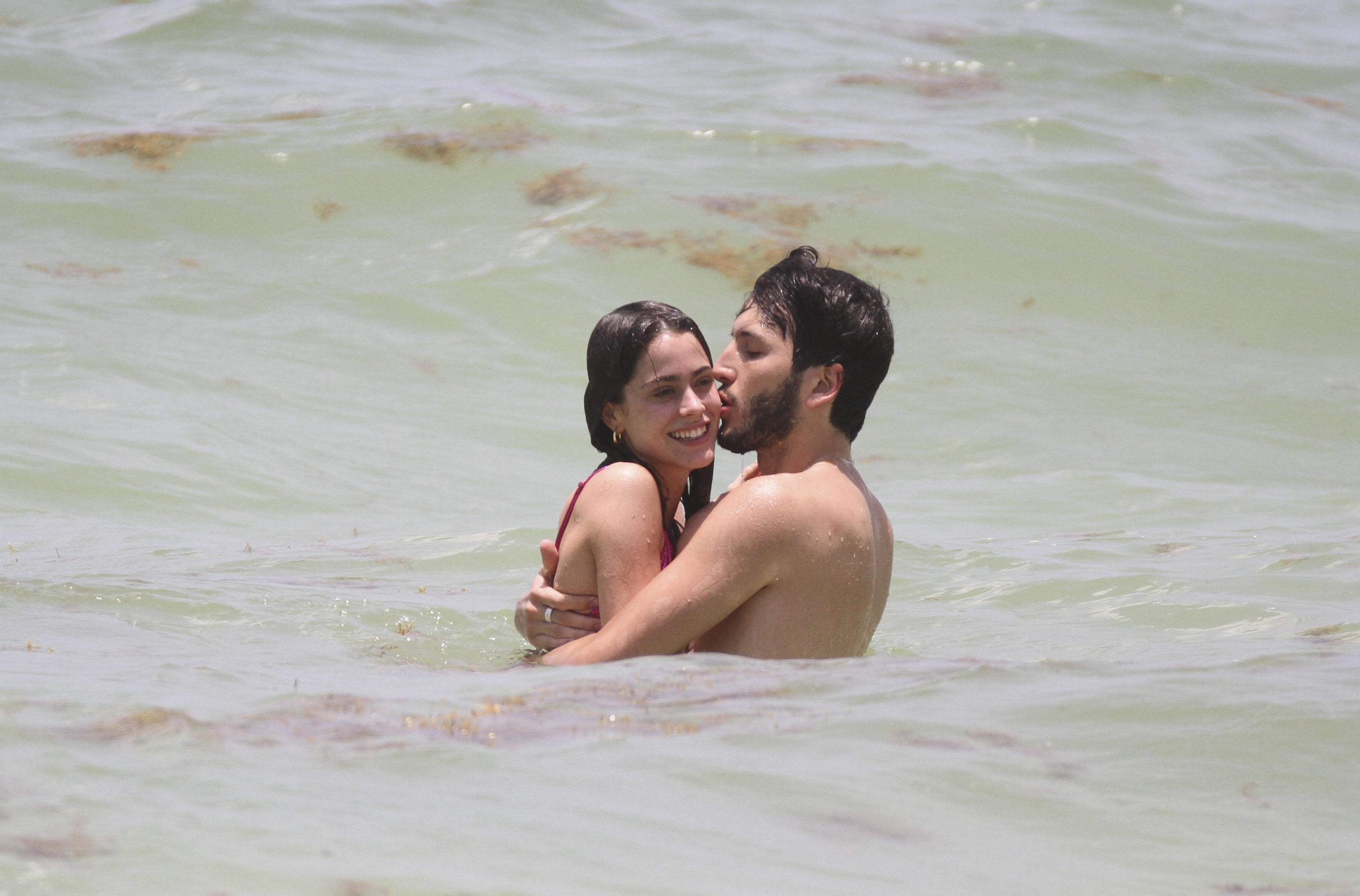 Sebastián Yatra y Tini Stoessel vacaciones en Tulum, Mexico
