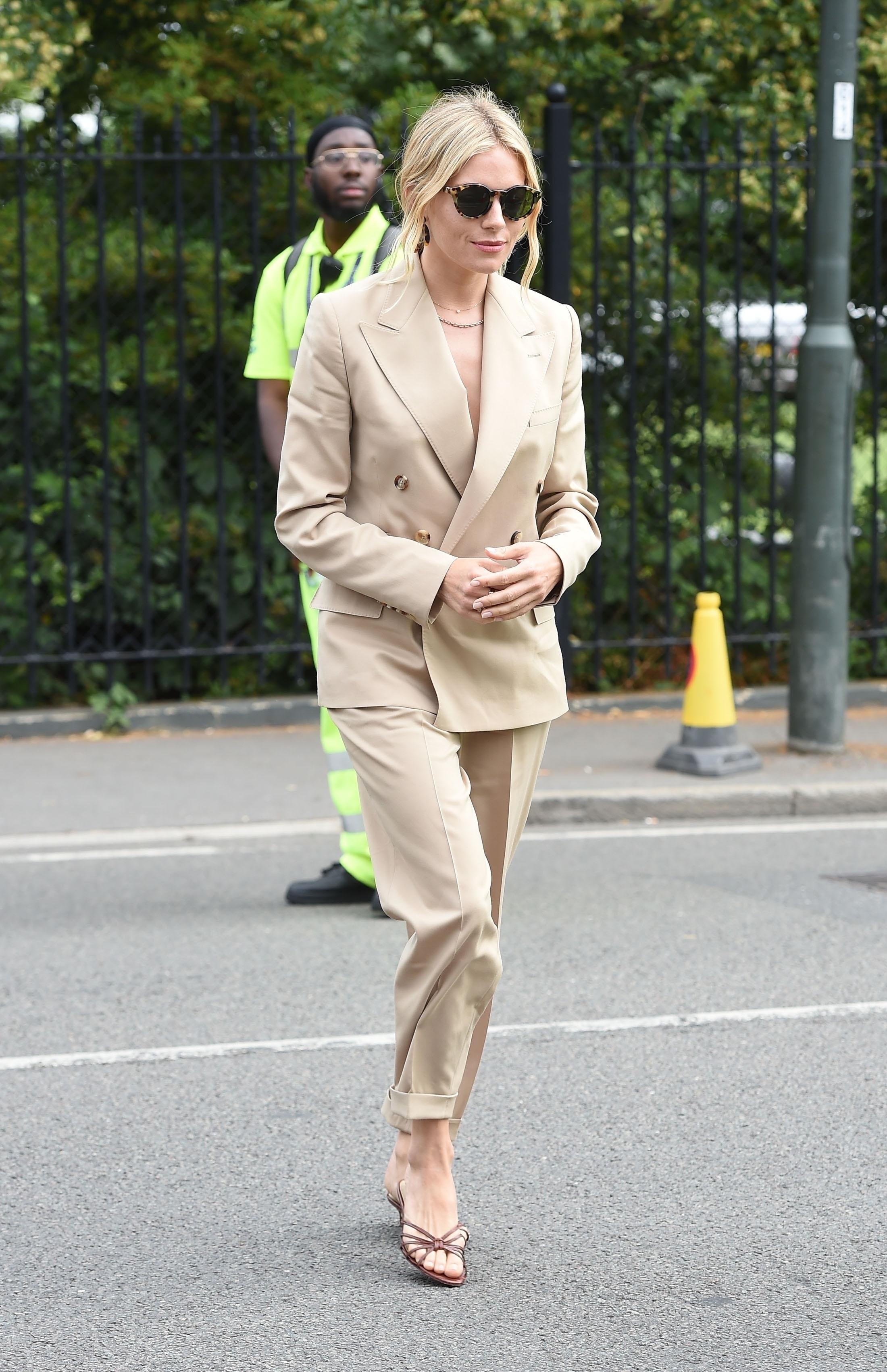 Sienna Miller, looks, wimbledon