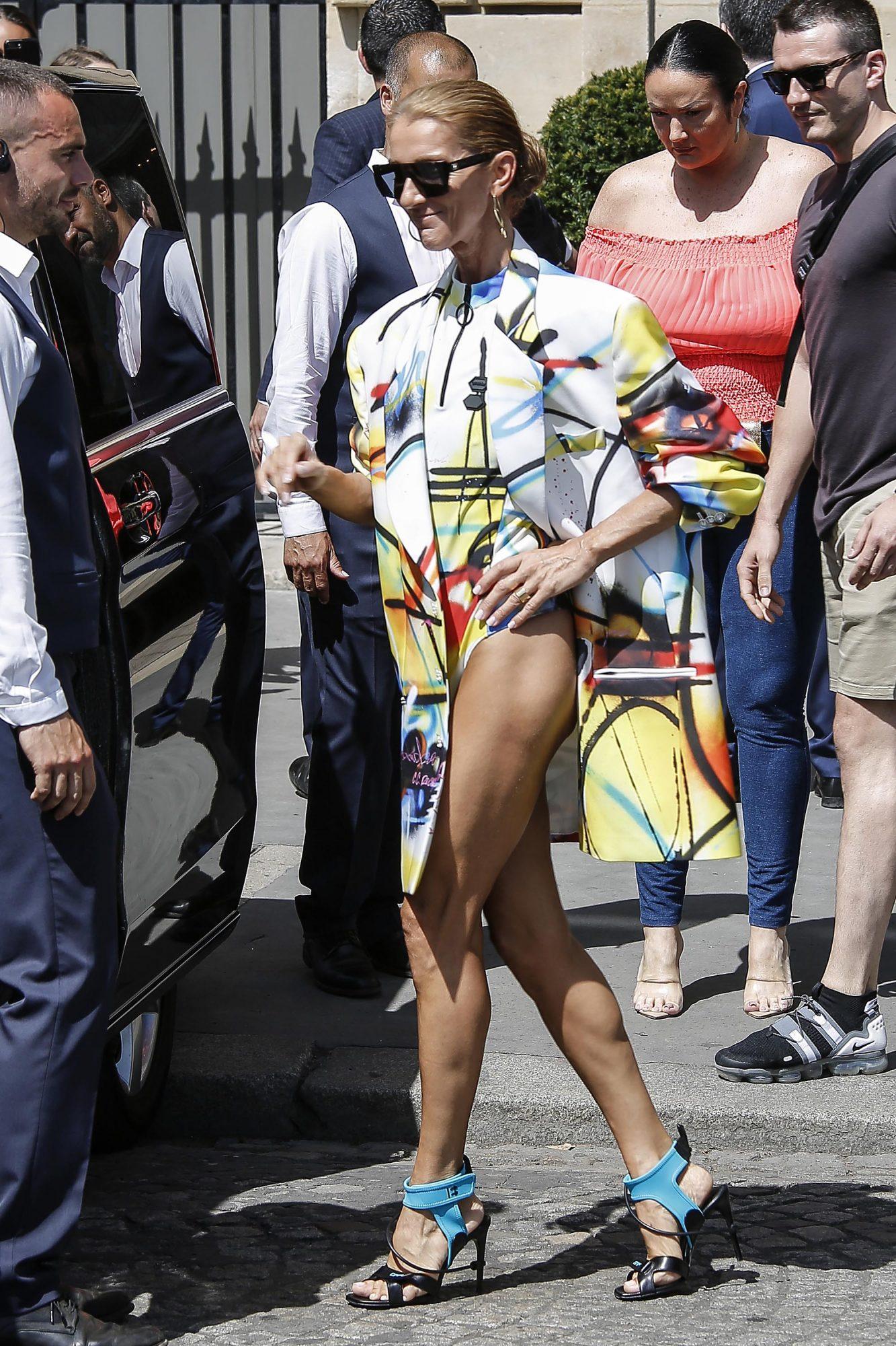 Celine Dion, semana de la moda Paris, looks