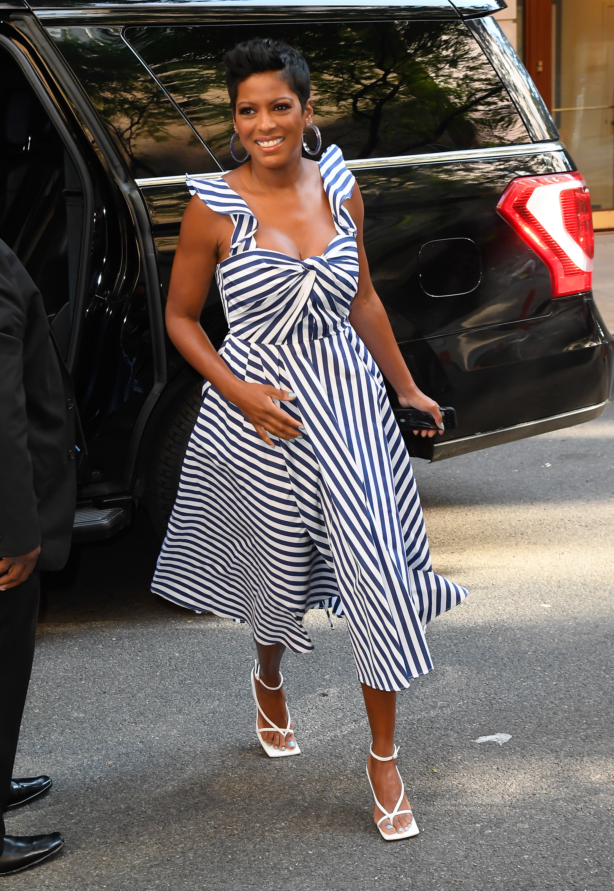 Tamron Hall, looks, new york