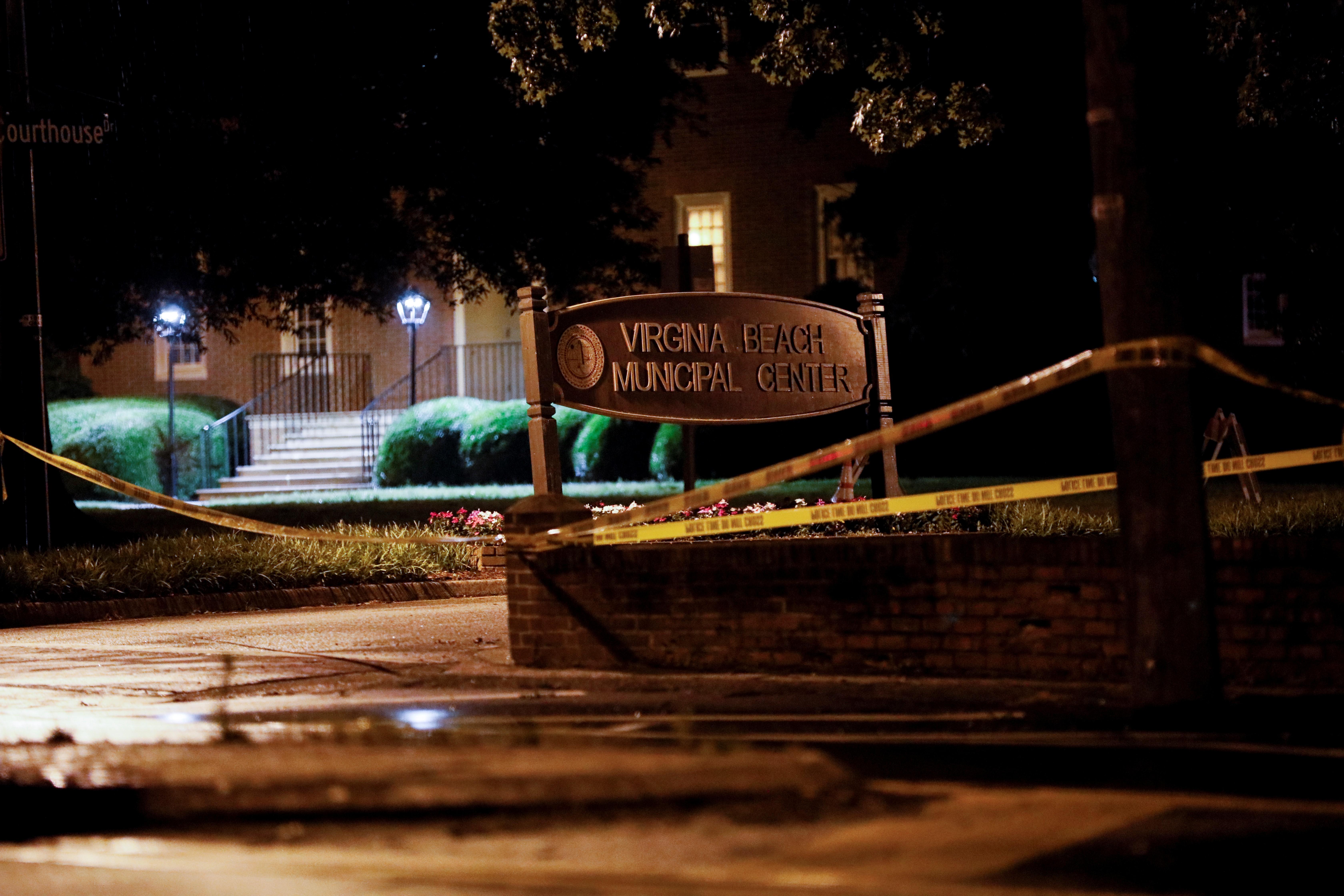 12 dead, 4 injured in Virginia shooting