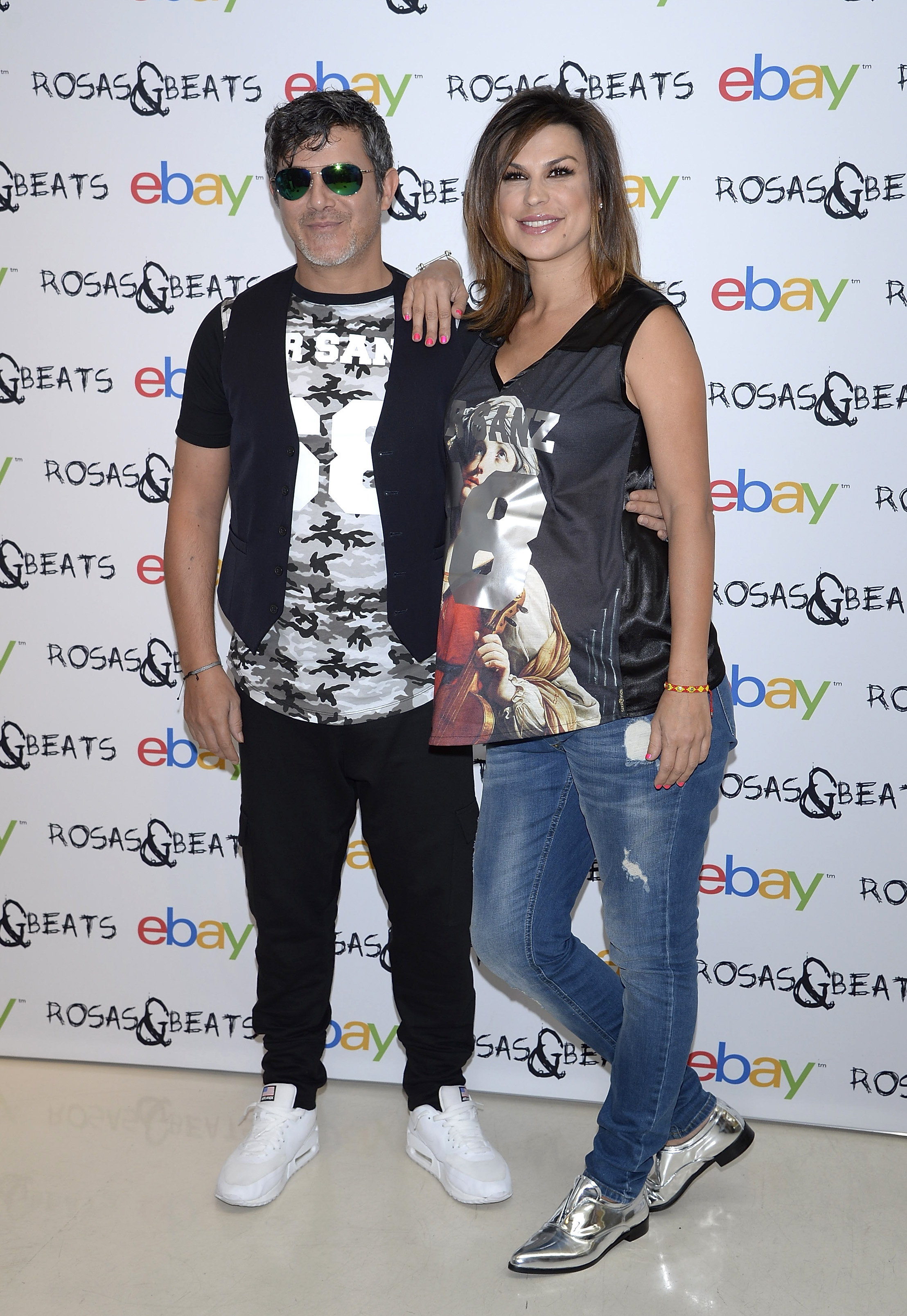 Alejandro Sanz and Raquel Perera Launch Rosas & Beats Collection