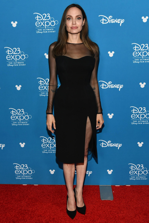 Angelina Jolie, looks