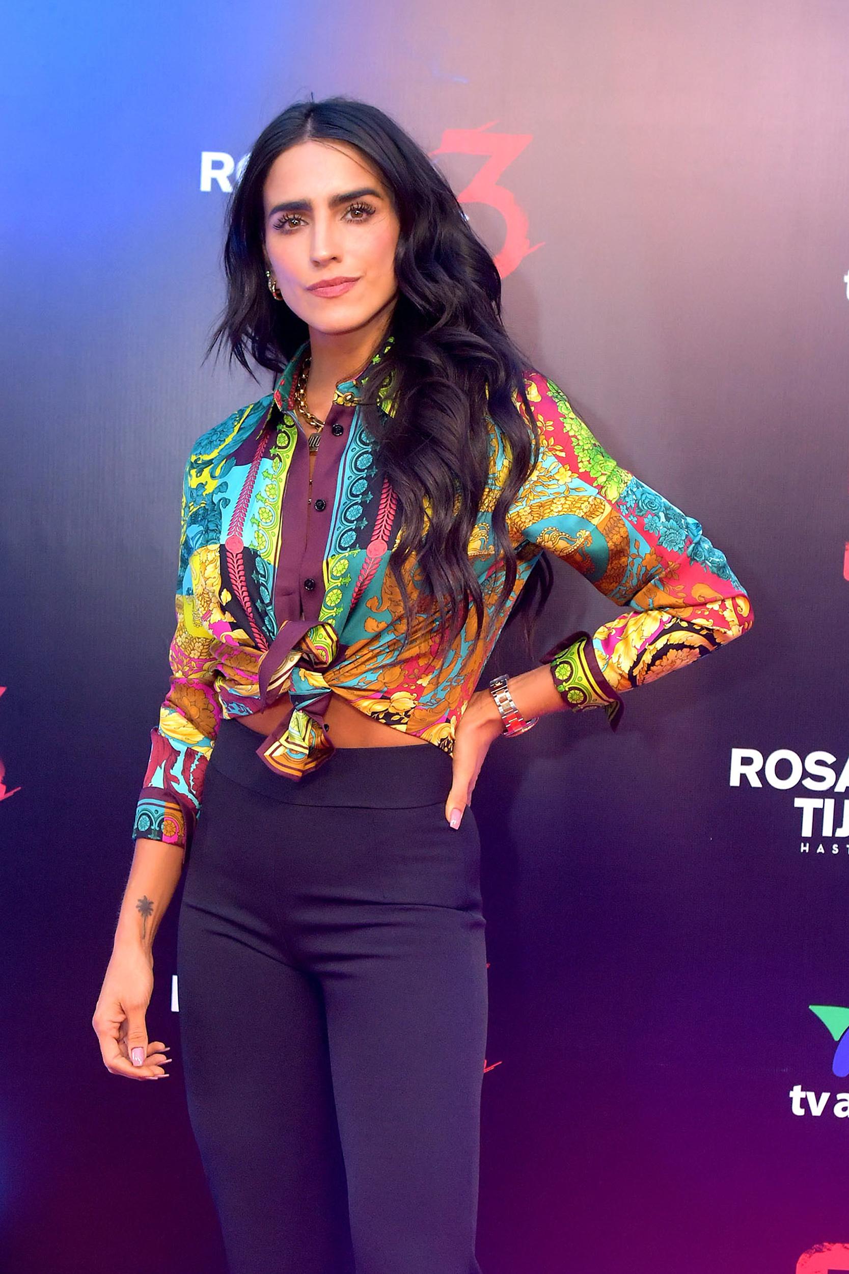 Bárbara de Regil mexico presentación de Rosario Tijeras