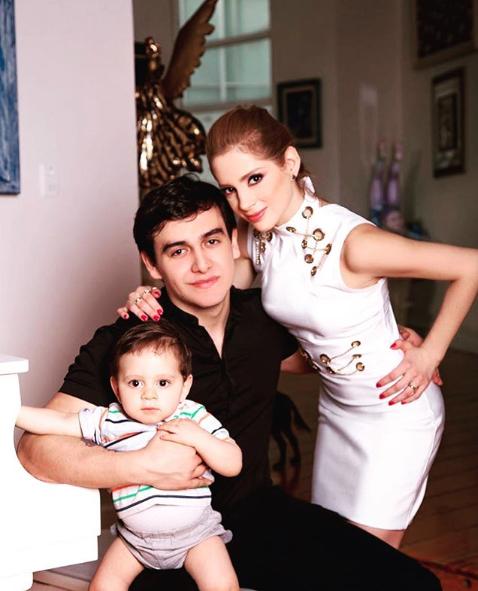 Julián Figueroa, Imelda Garza Tuñón y José Julián