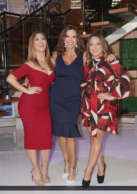 Stephanie Himonidis, Rashel Diaz y Adamari Lopez un nuevo dia