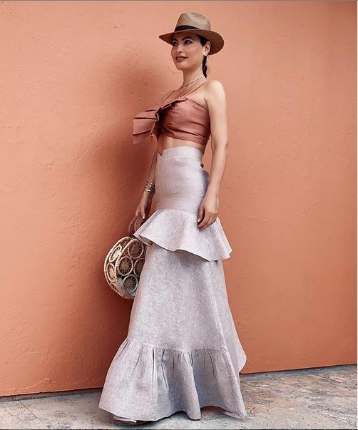 Chiquinquira Delgado, looks, cartagena, vacaciones