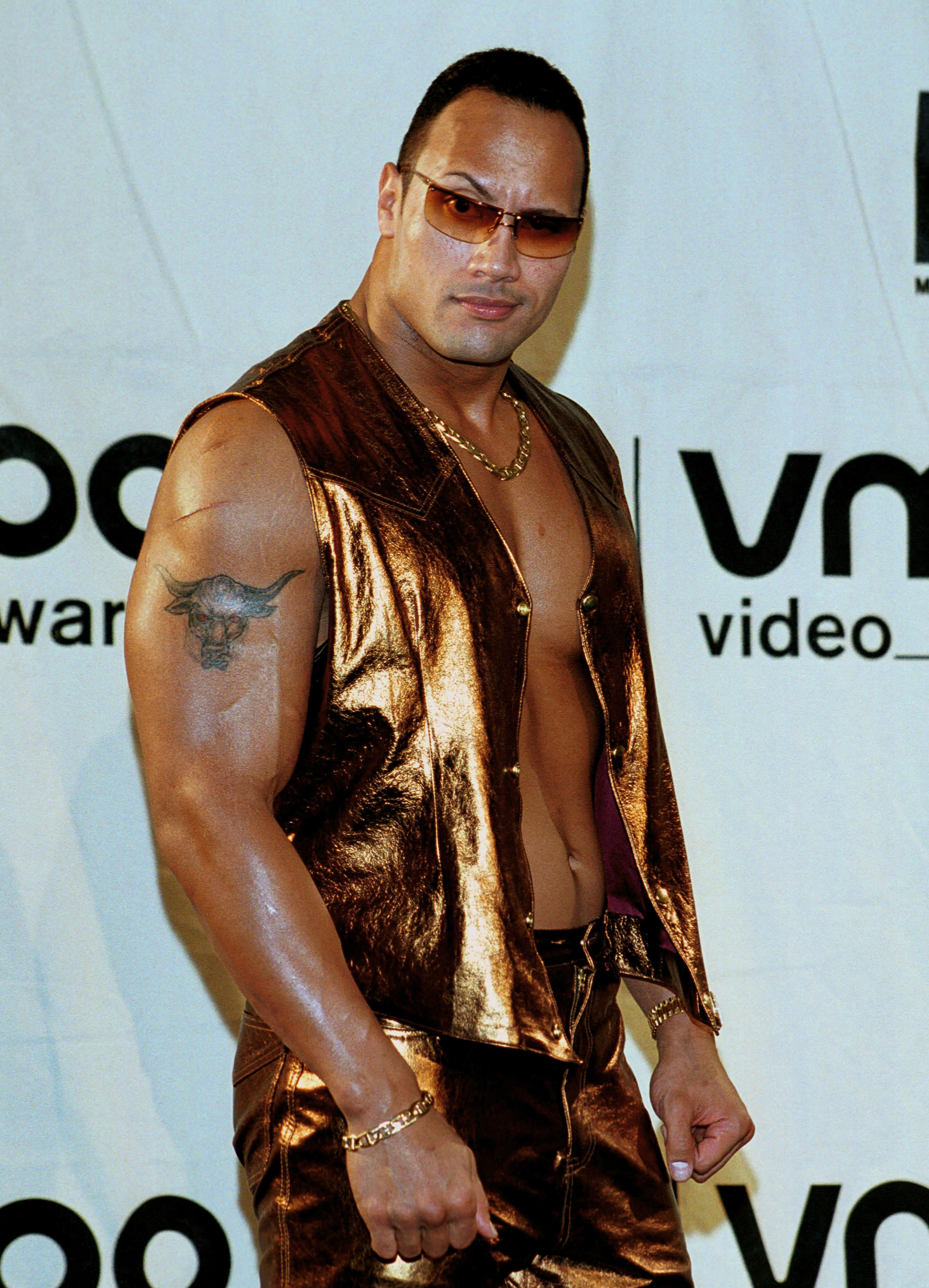 Dwayne 'The Rock' Johnson con pelo