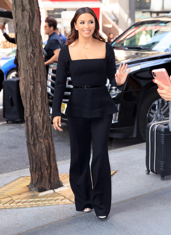Eva Longoria, looks, new York