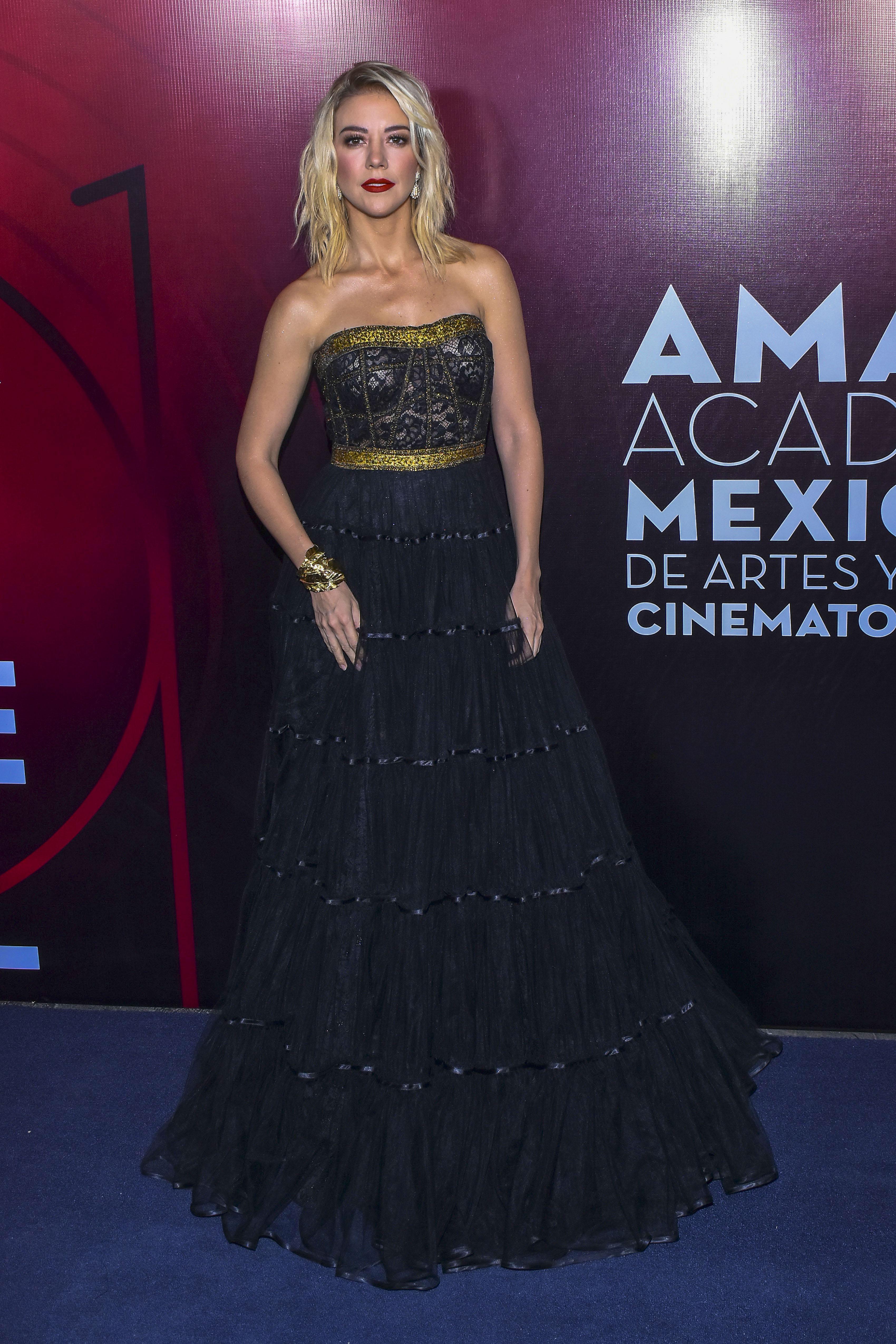 Fernanda Castillo, looks, mexico, premios Ariel