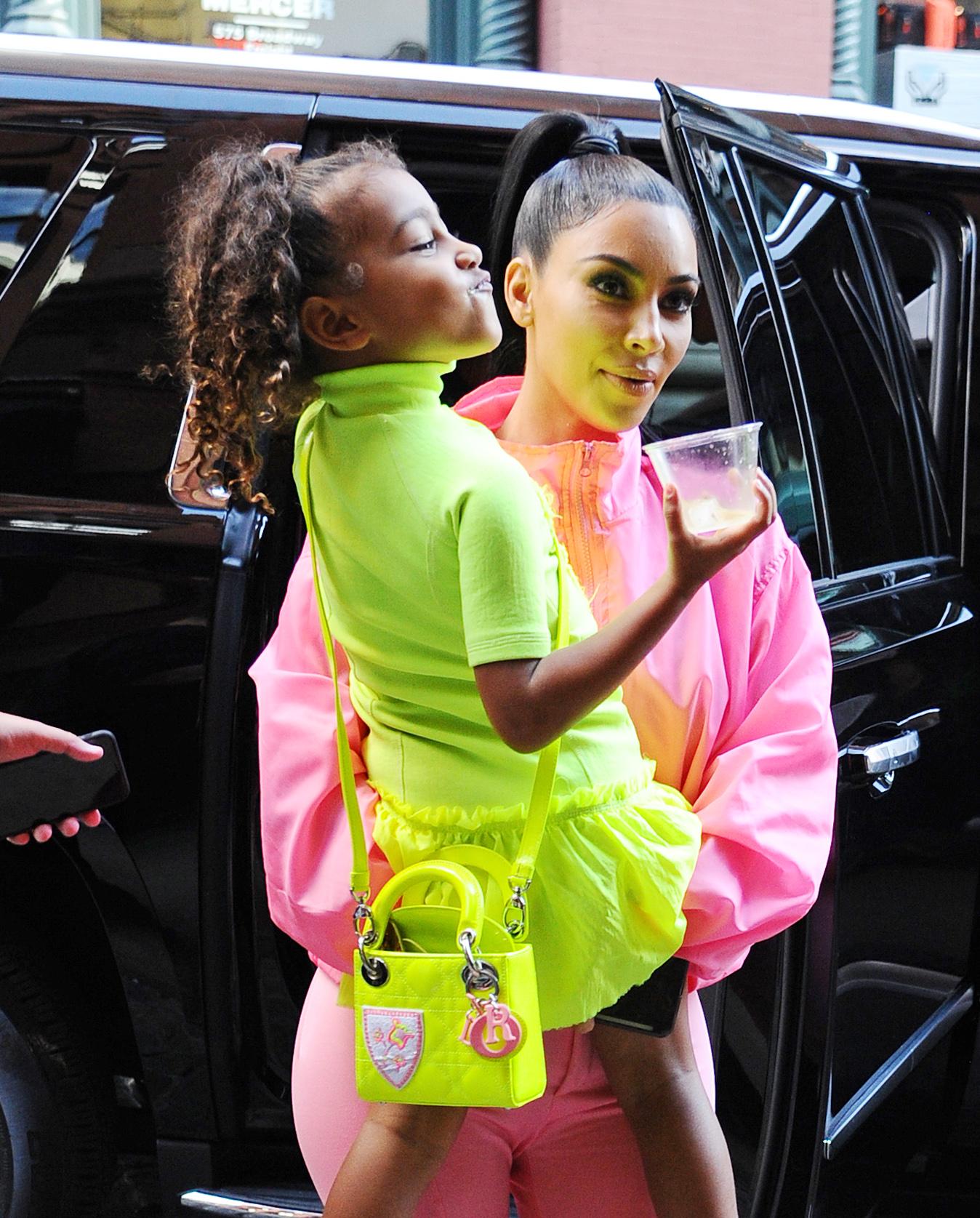 Kim Kardashian, North West,