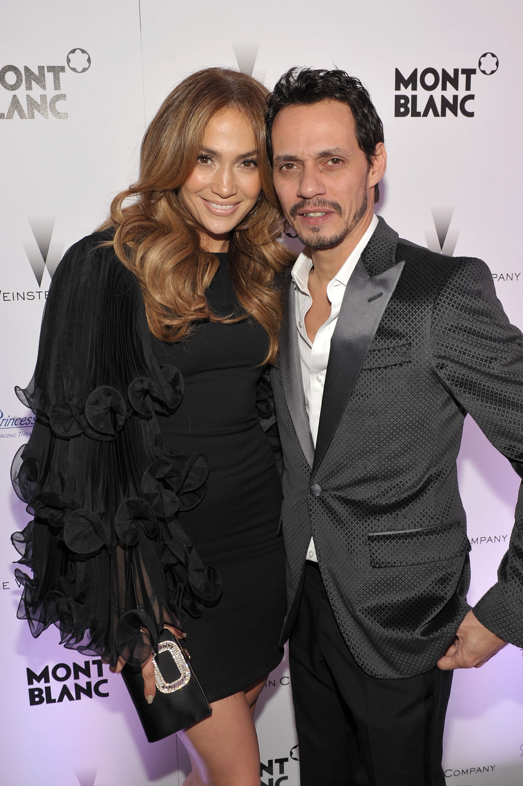 Jennifer López y Marc Anthony