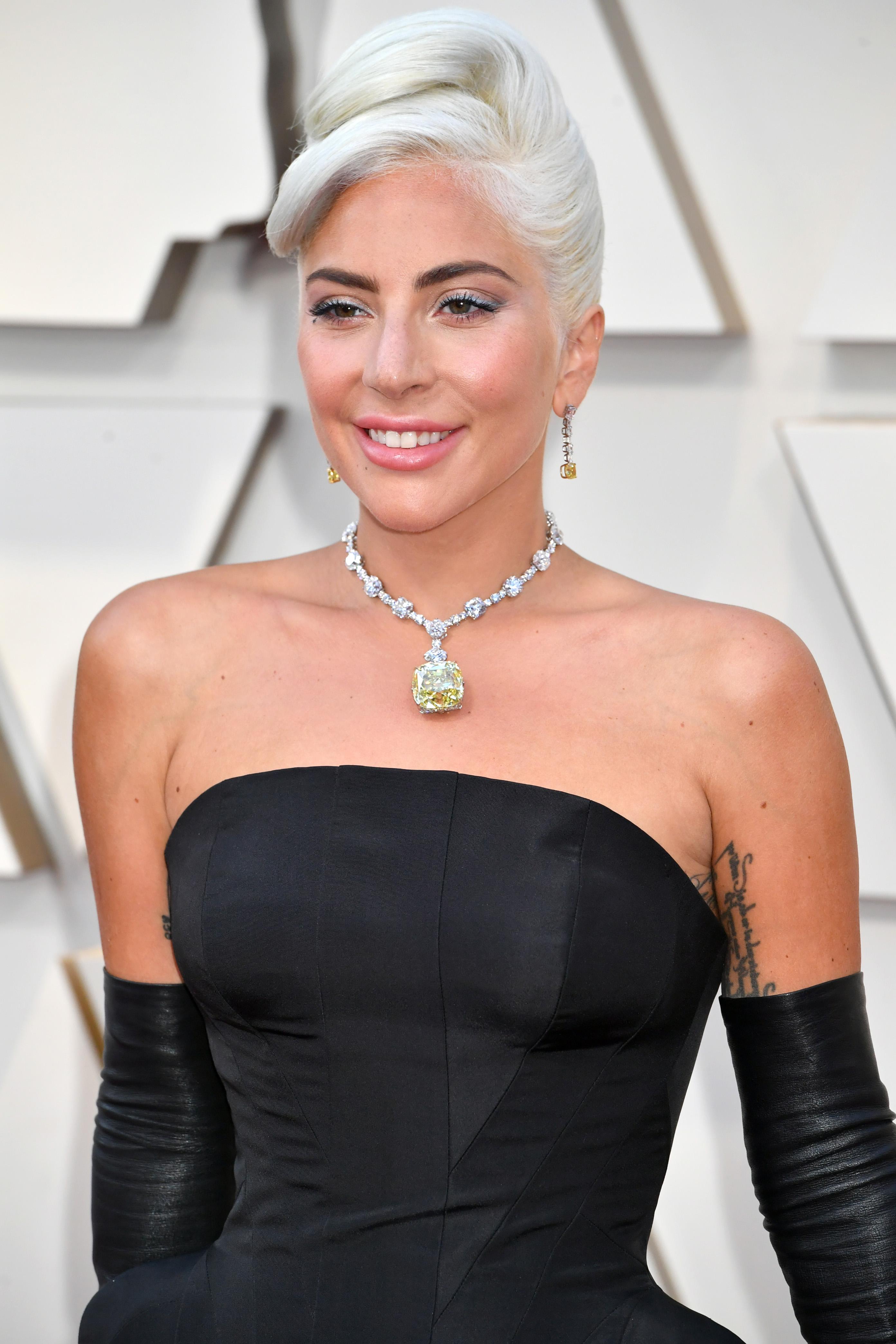 Lady Gaga, oscars 2019, diamante, tiffany