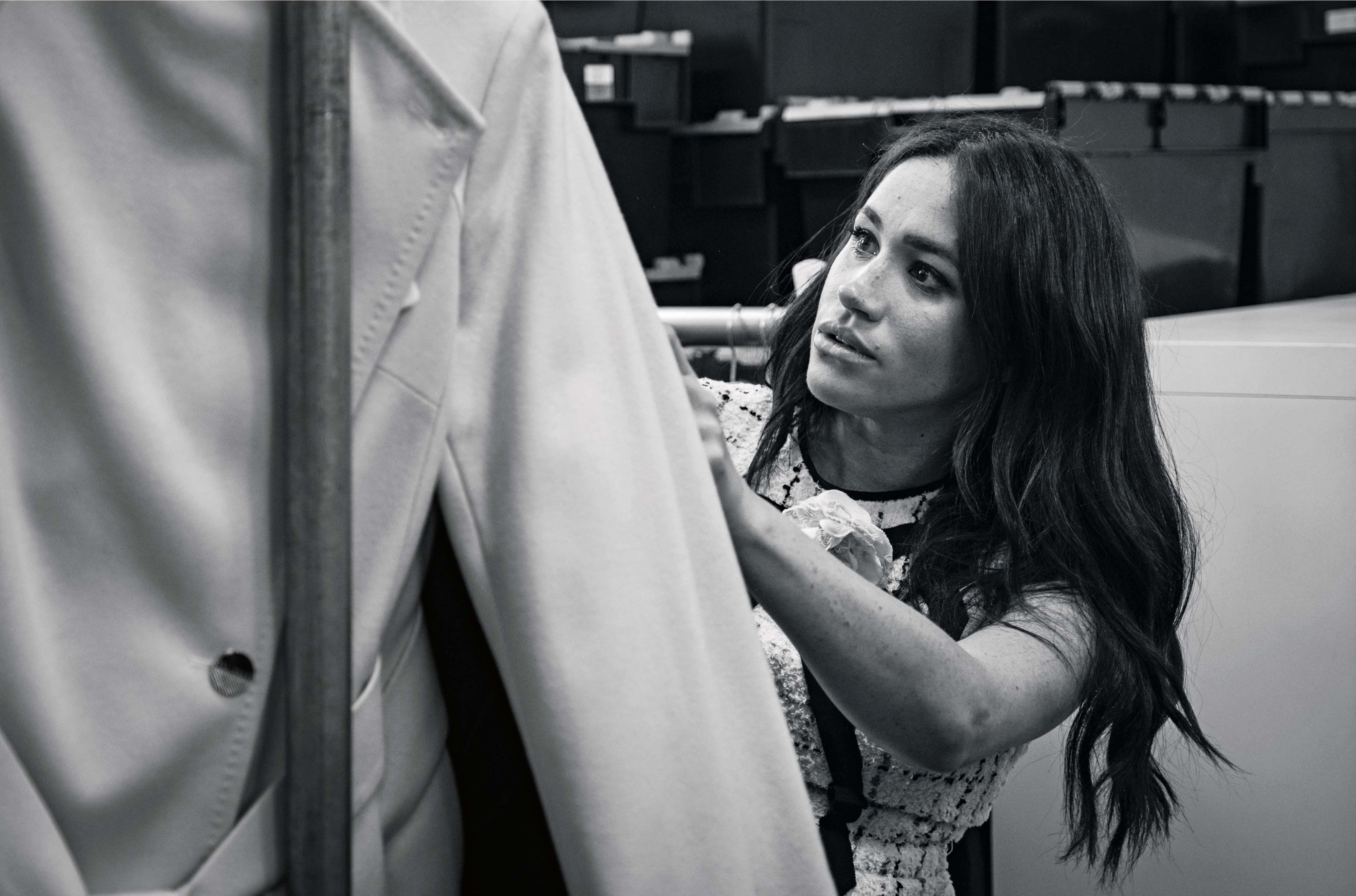 Meghan Markle in British Vogue
