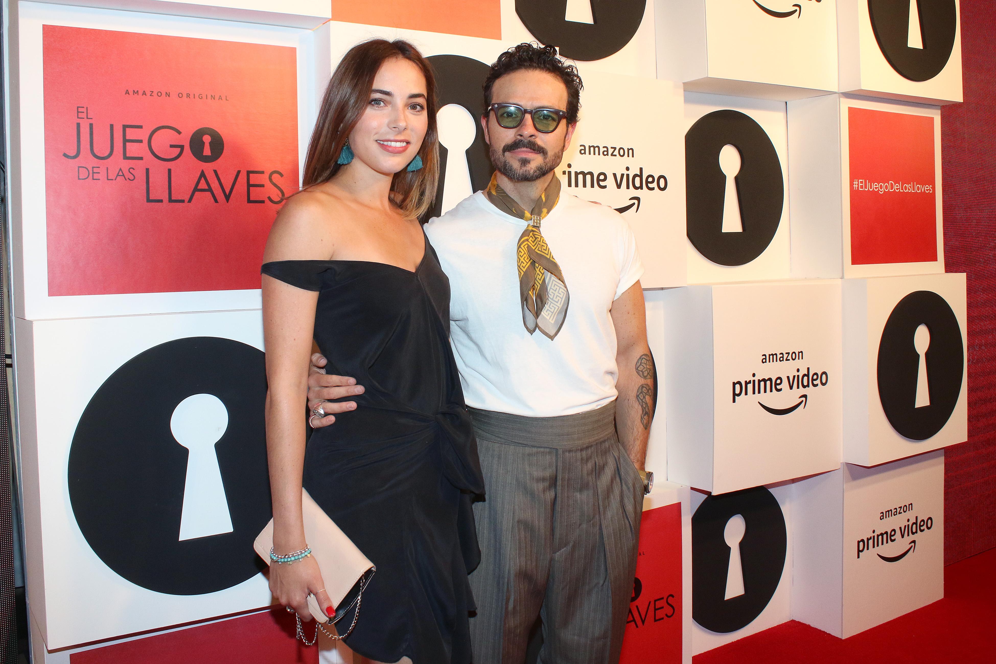 Mariel Molino y José María Torre premiere El juego de las llaves