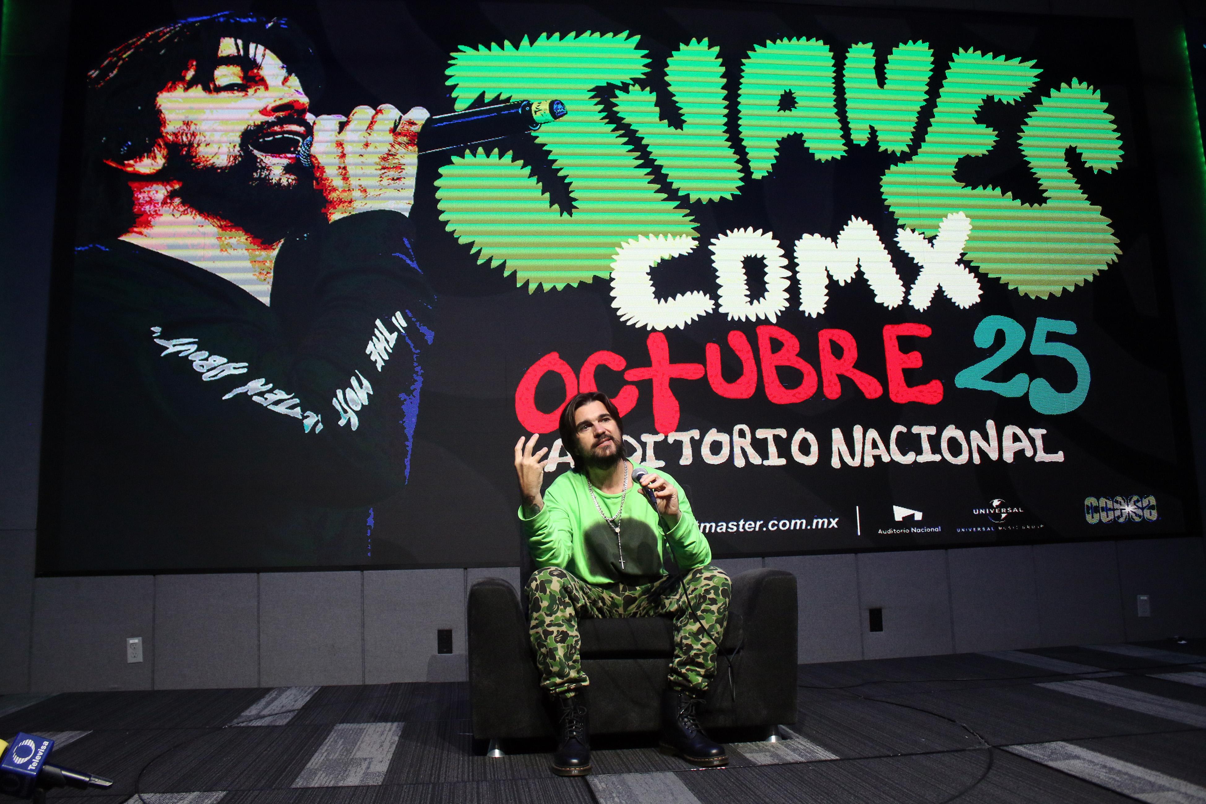 Juanes nuevo tour west coast