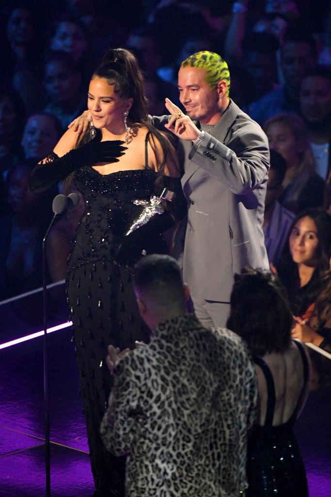 Rosalía y J Balvin mejor video mejor vídeo en los MTV Video Music Awards