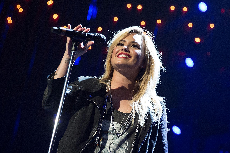 Demi Lovato at Festival