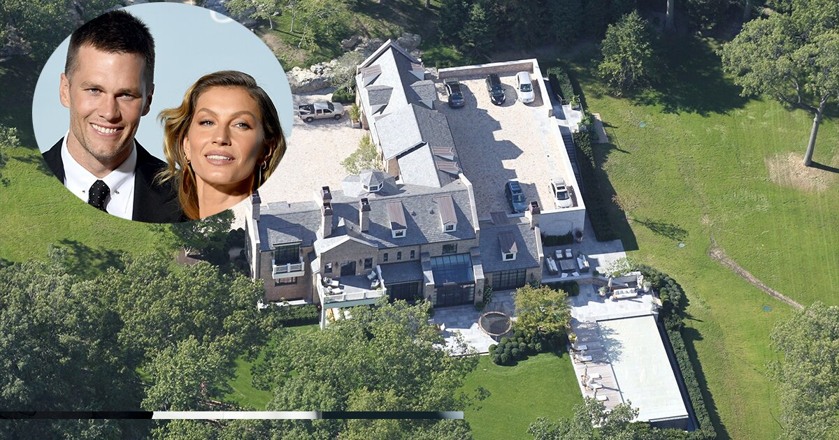 Resultado de imagen para Tom Brady casa de massachusetts