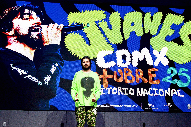 Juanes gira en México