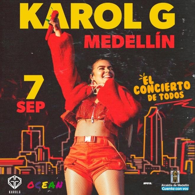 Karol G Ocean World Tour El concierto de todos