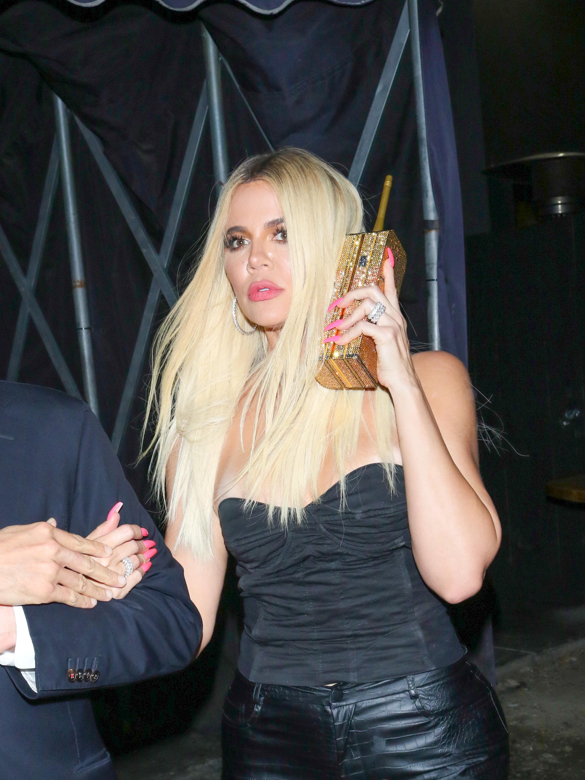 Khloé Kardashian telefono en los angeles