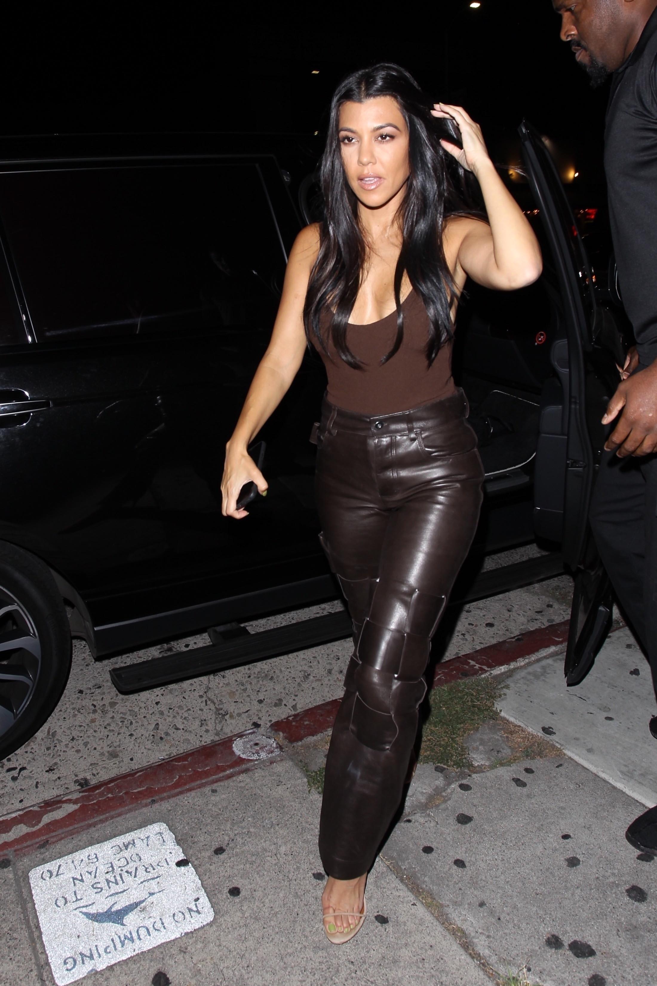 Kourtney Kardashian, looks, los angeles