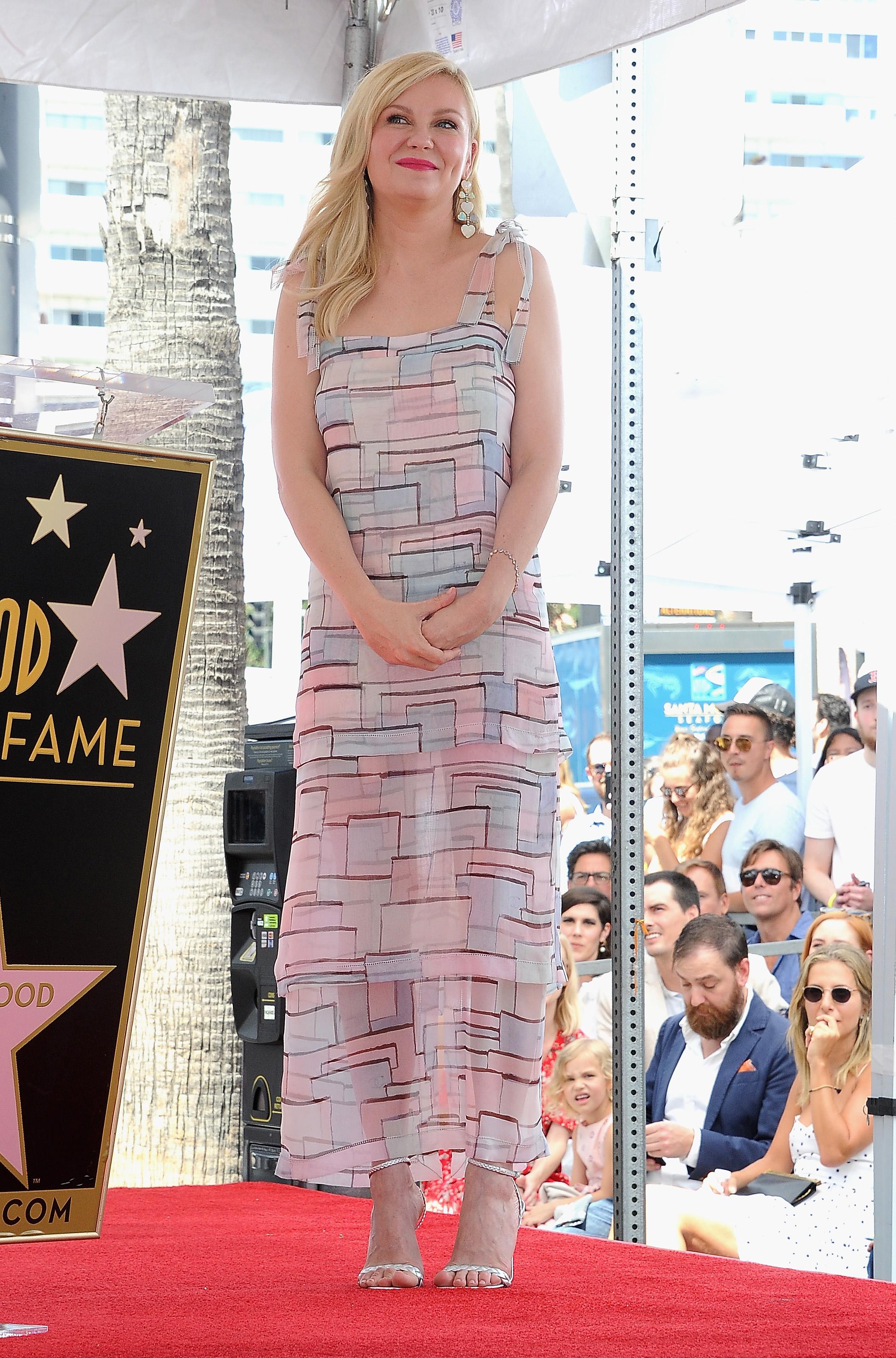 Kirsten Dunst, look, estrella, camino de la fama
