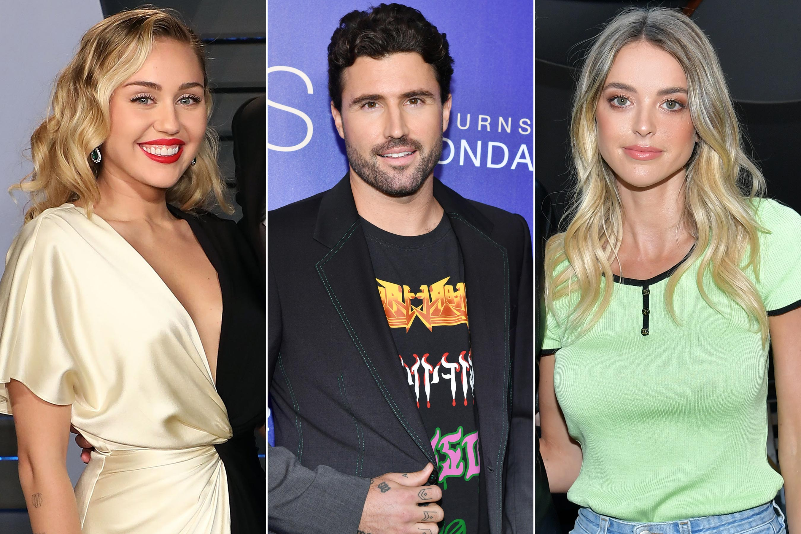 Miley Cirus, Brody Jenner, Kaitlynn Carter