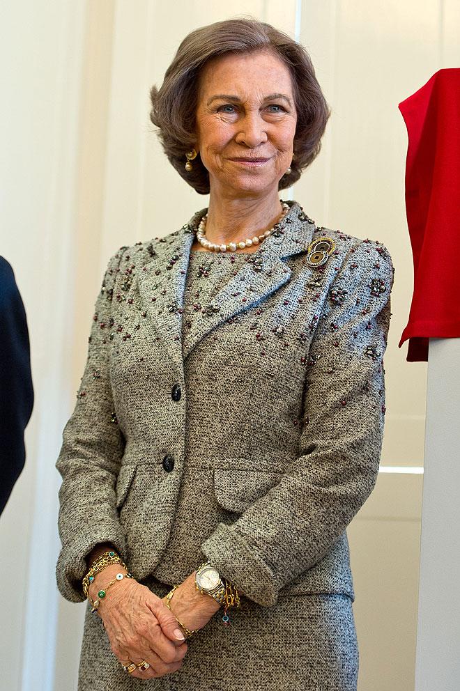 Reina Sofía de España.