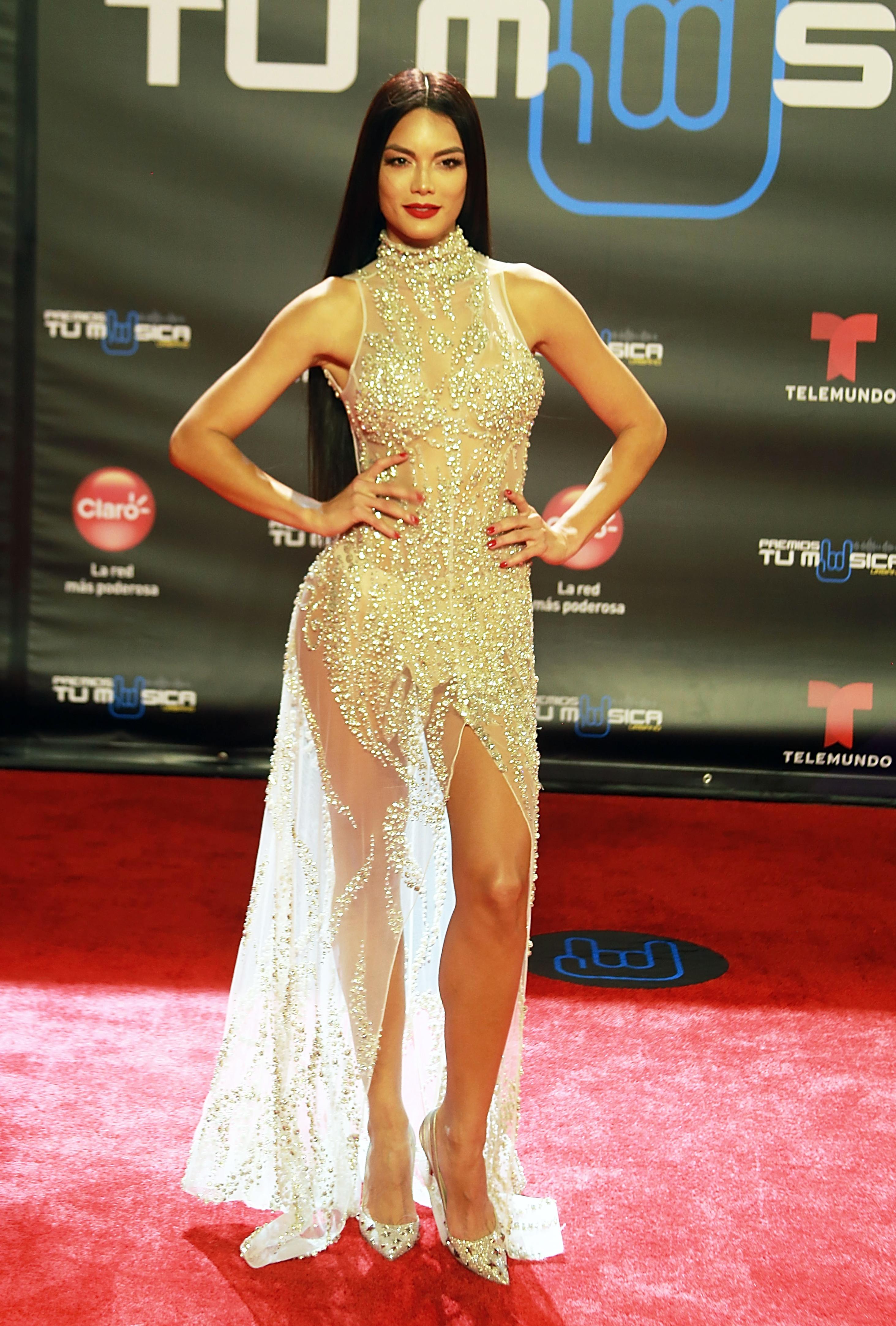 Zuleyka Rivera, look, premio tu musica urbano, alfombra, puerto rico
