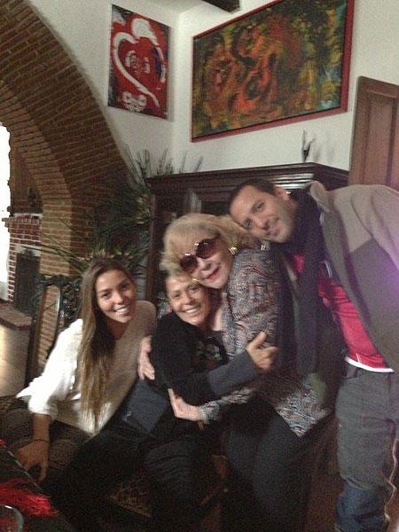 Alejandra Guzmán, Frida Sofía, Silvia Pinal, Luis Enrique, famosos en twitter