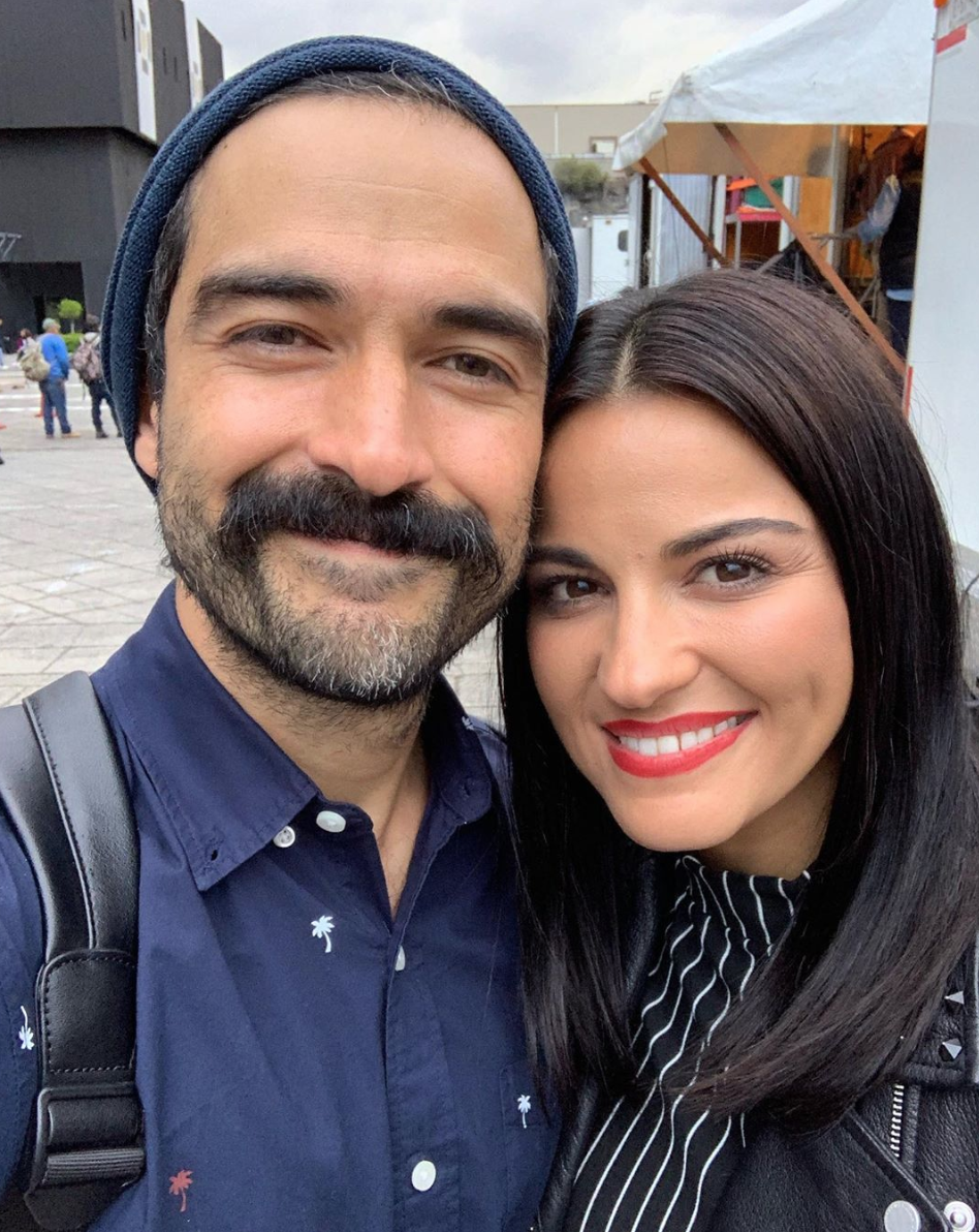 Alfonso Herrera y Maite Perroni