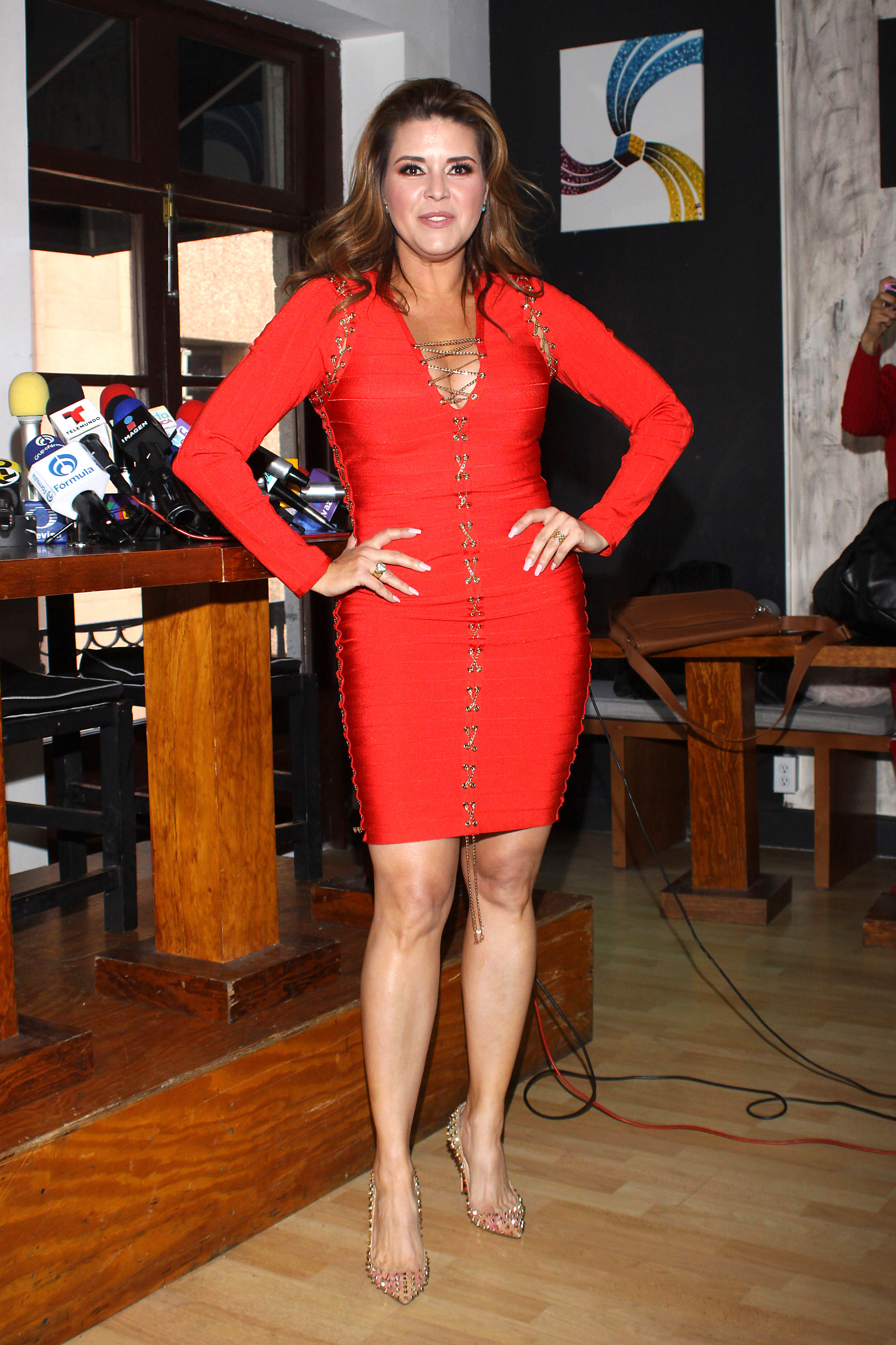 Alicia Machado, looks