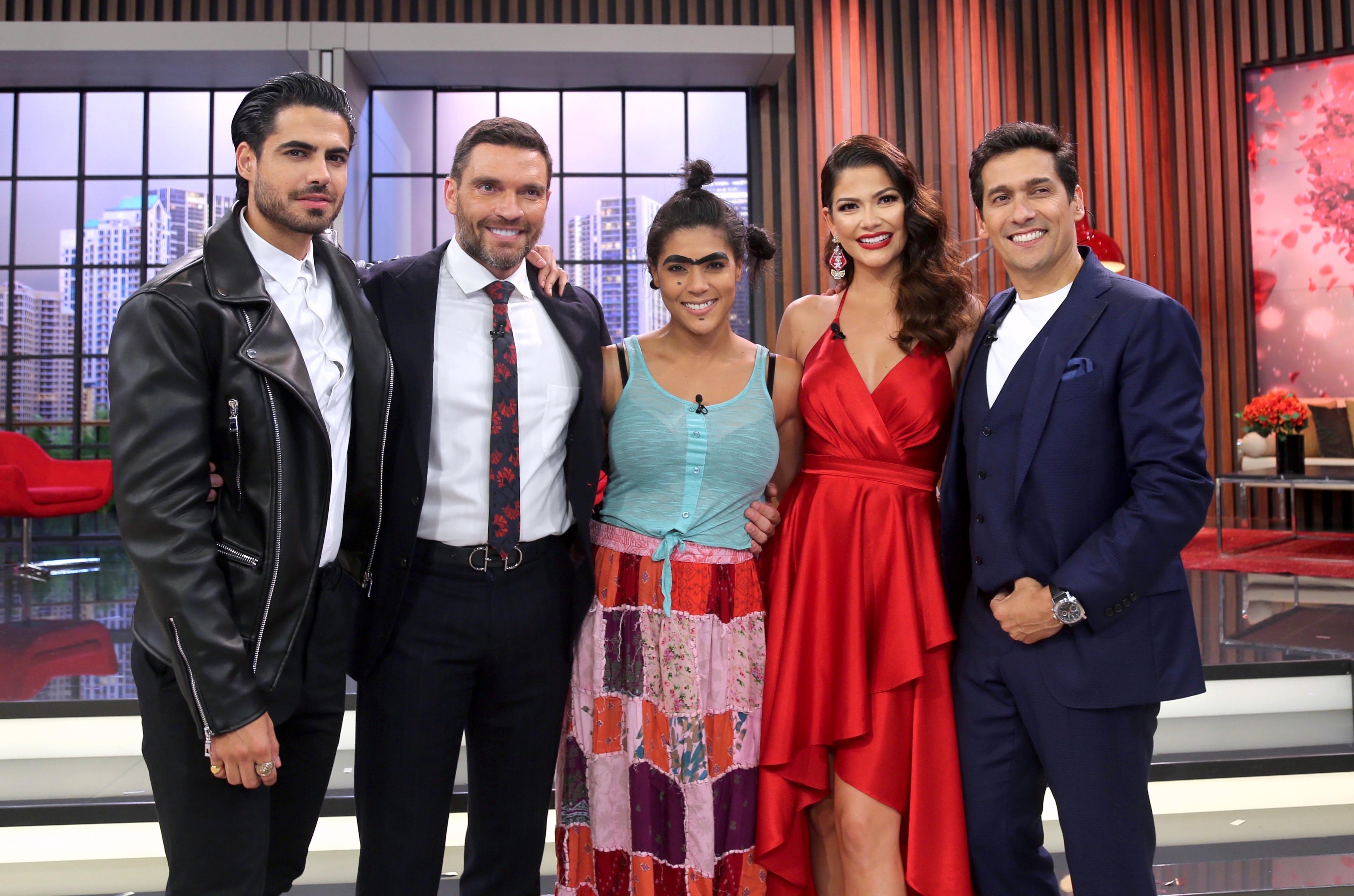 Ana Patricia Gámez estreno de Enamorándonos