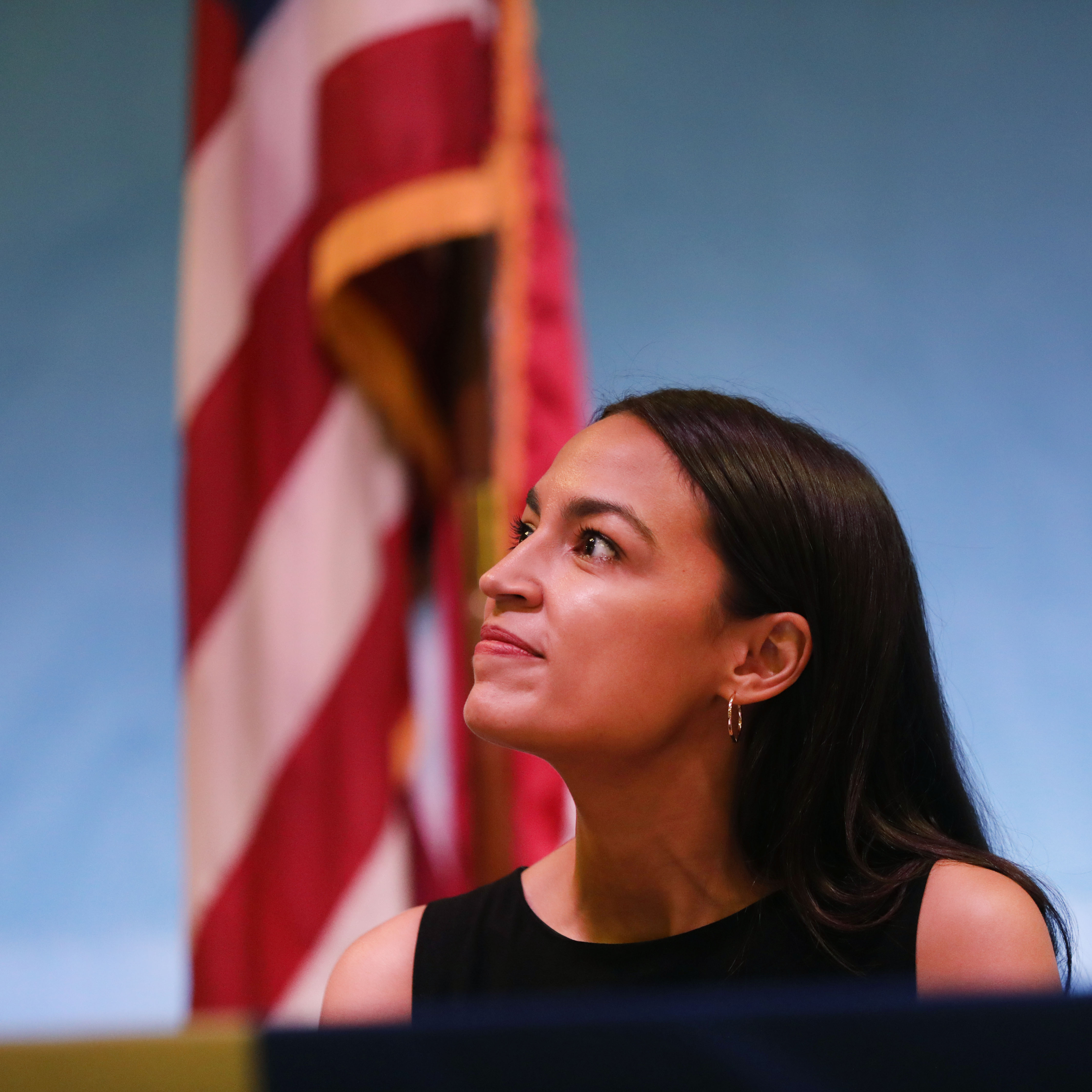 Rep. Alexandria Ocasio-Cortez Holds Immigration Town Hall In Queens