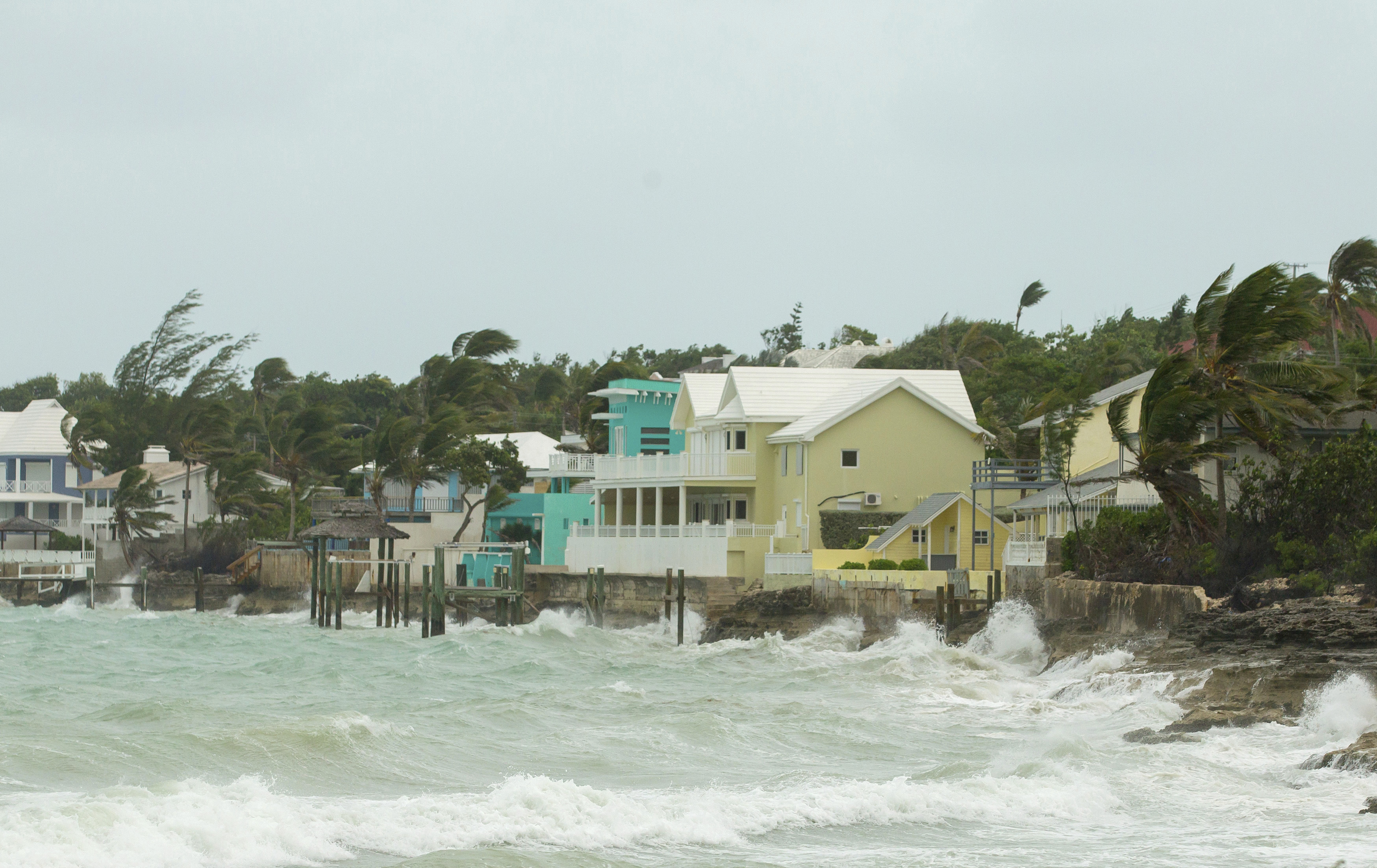 Huracan Irma en Bahamas