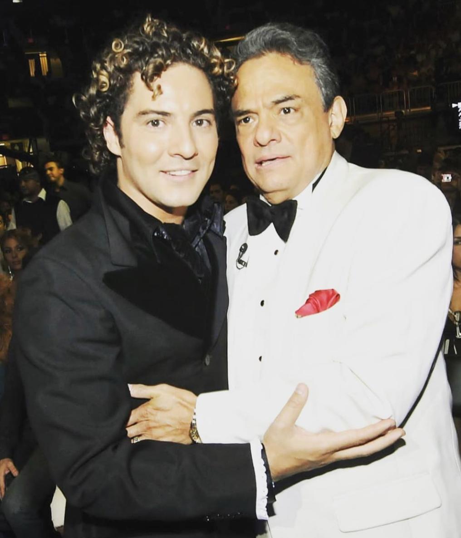 David Bisbal y Jose Jose