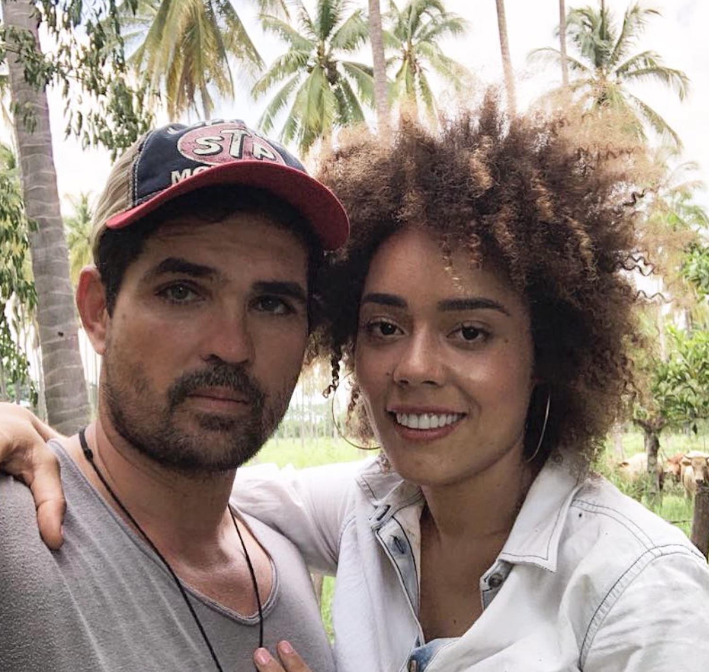 Ferdinando Valencia y Brenda Kellerman
