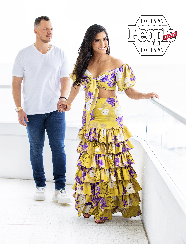 Francisca Lachapel y Francesco Zampogna - People En Español - Octubre 2019 Cover