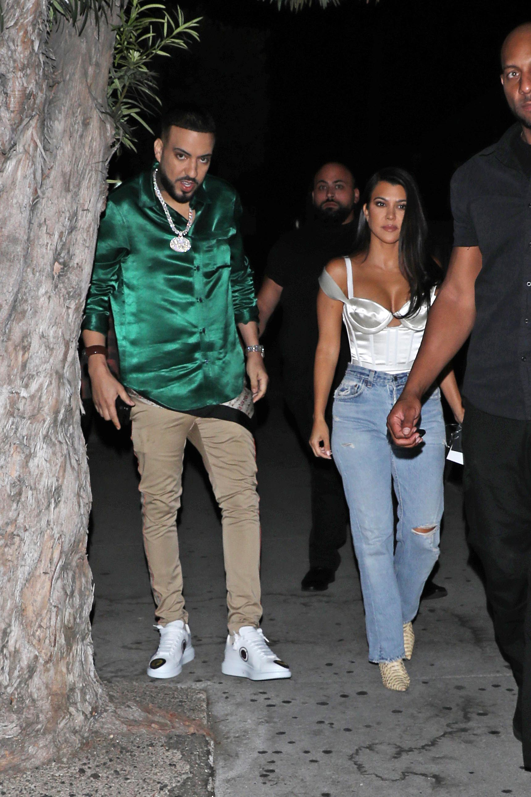 Kourtney Kardashian and French Montana