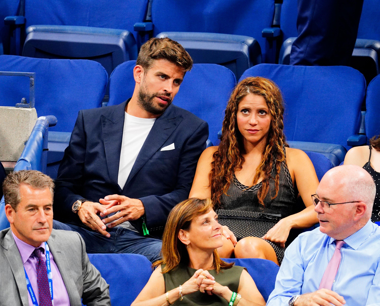 Gerard Piqué, Shakira, US Open 2019, Nueva York