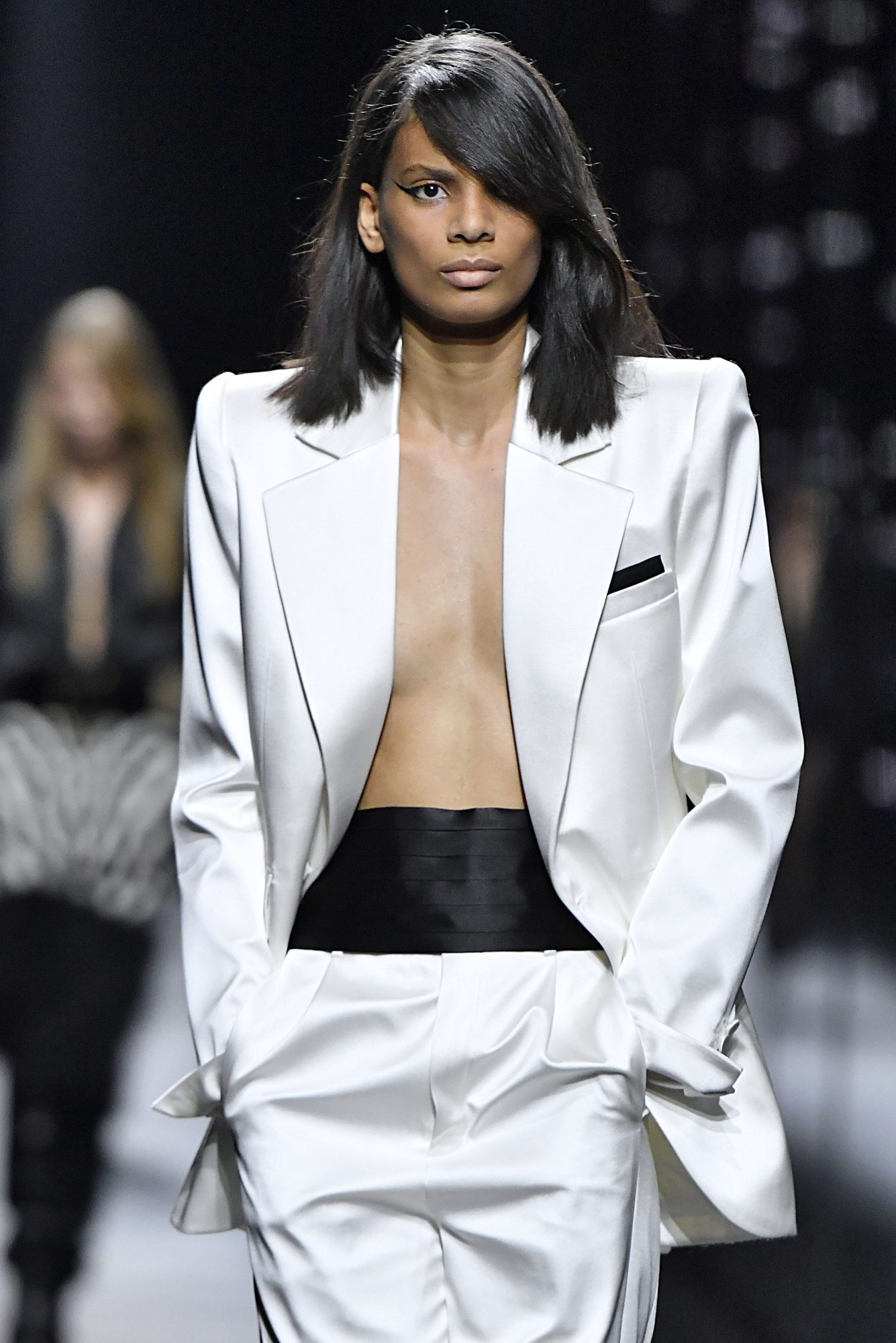 pasarela, moda, Saint Laurent