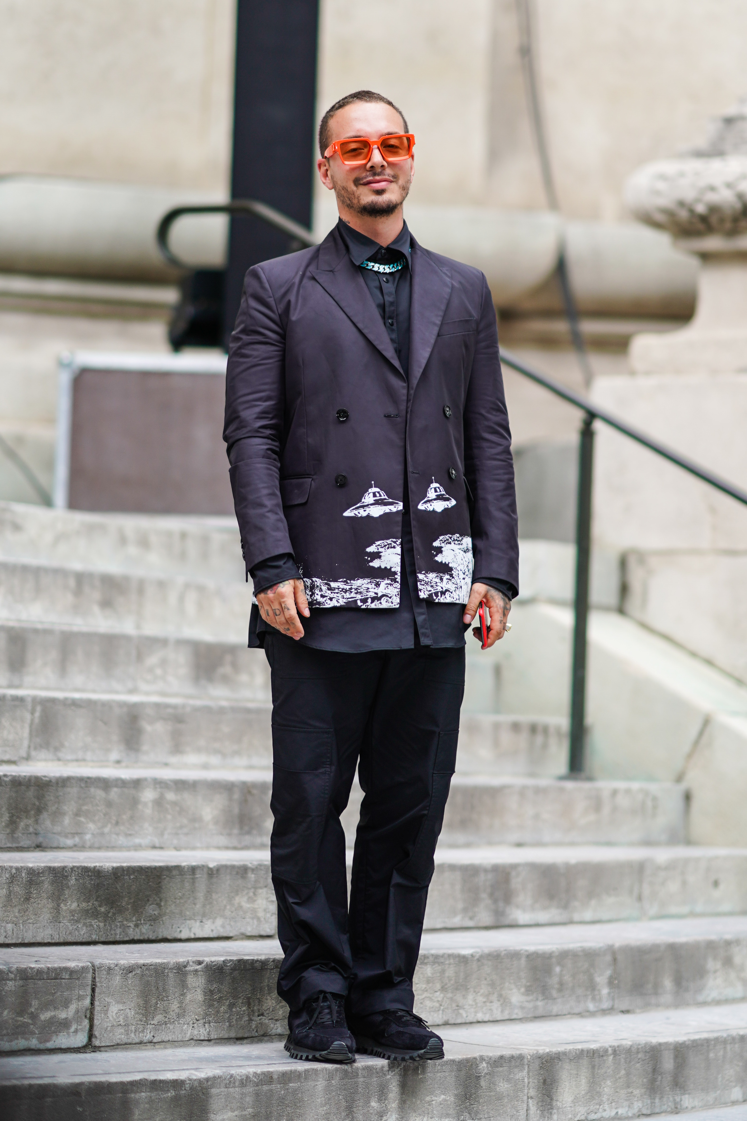 J Balvin, Paris Fashion Week