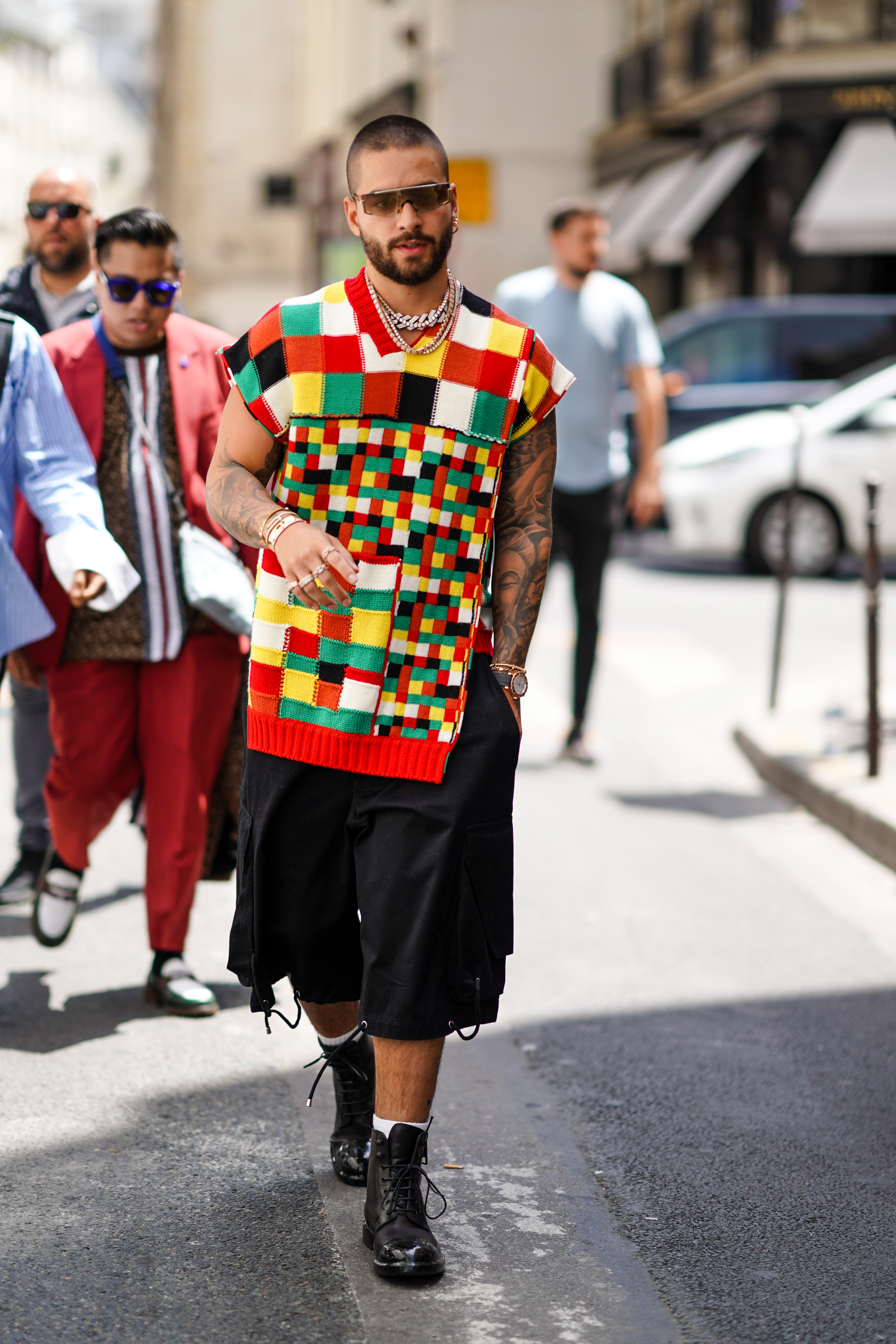 Maluma, Paris Fashion Week