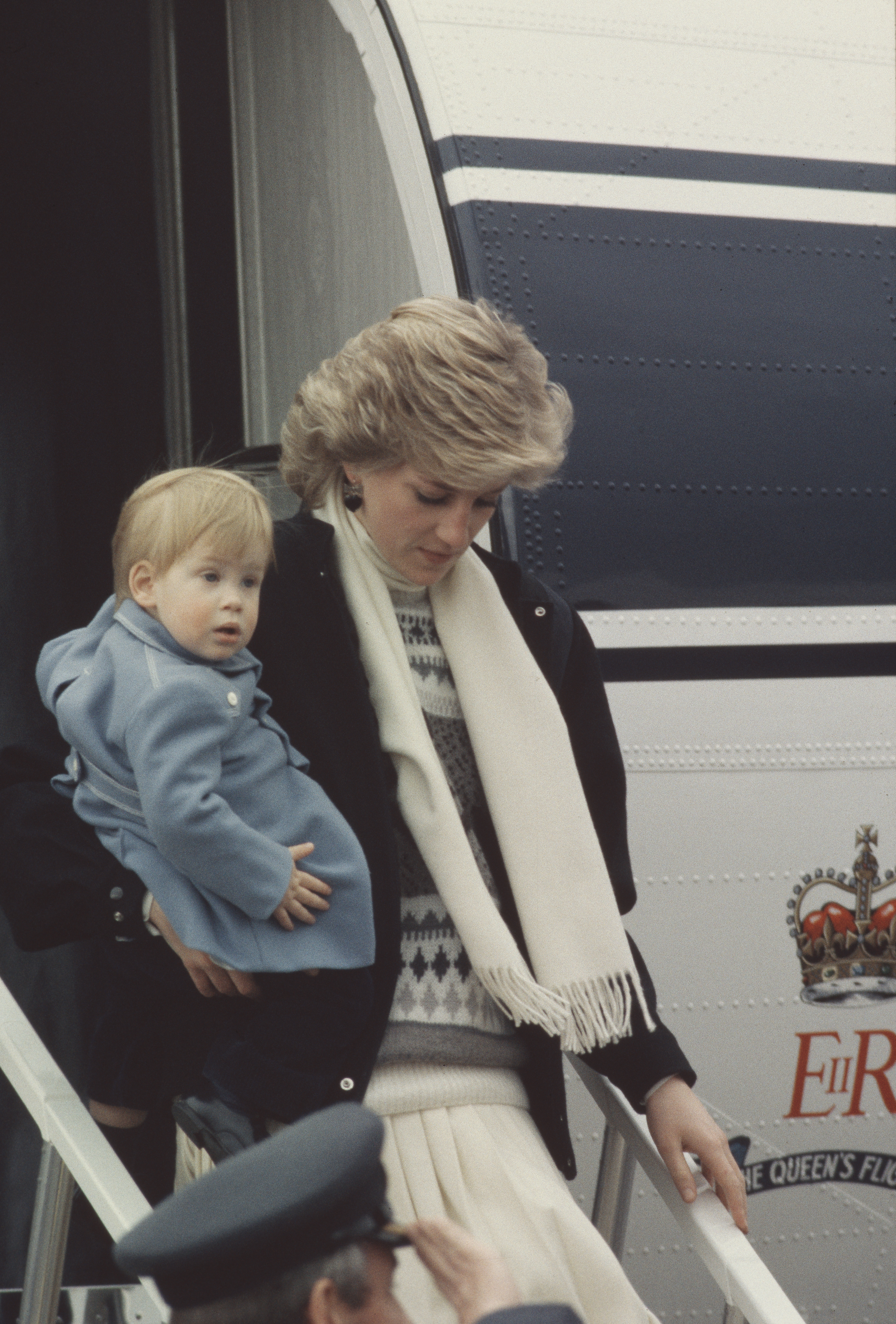 Diana And Harry In Aberdeen
