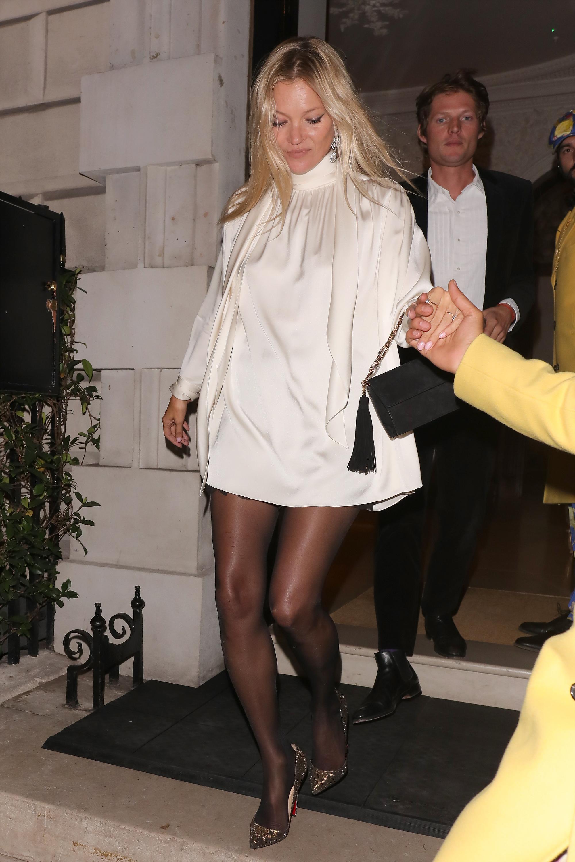 estilo, famosa, Kate Moss