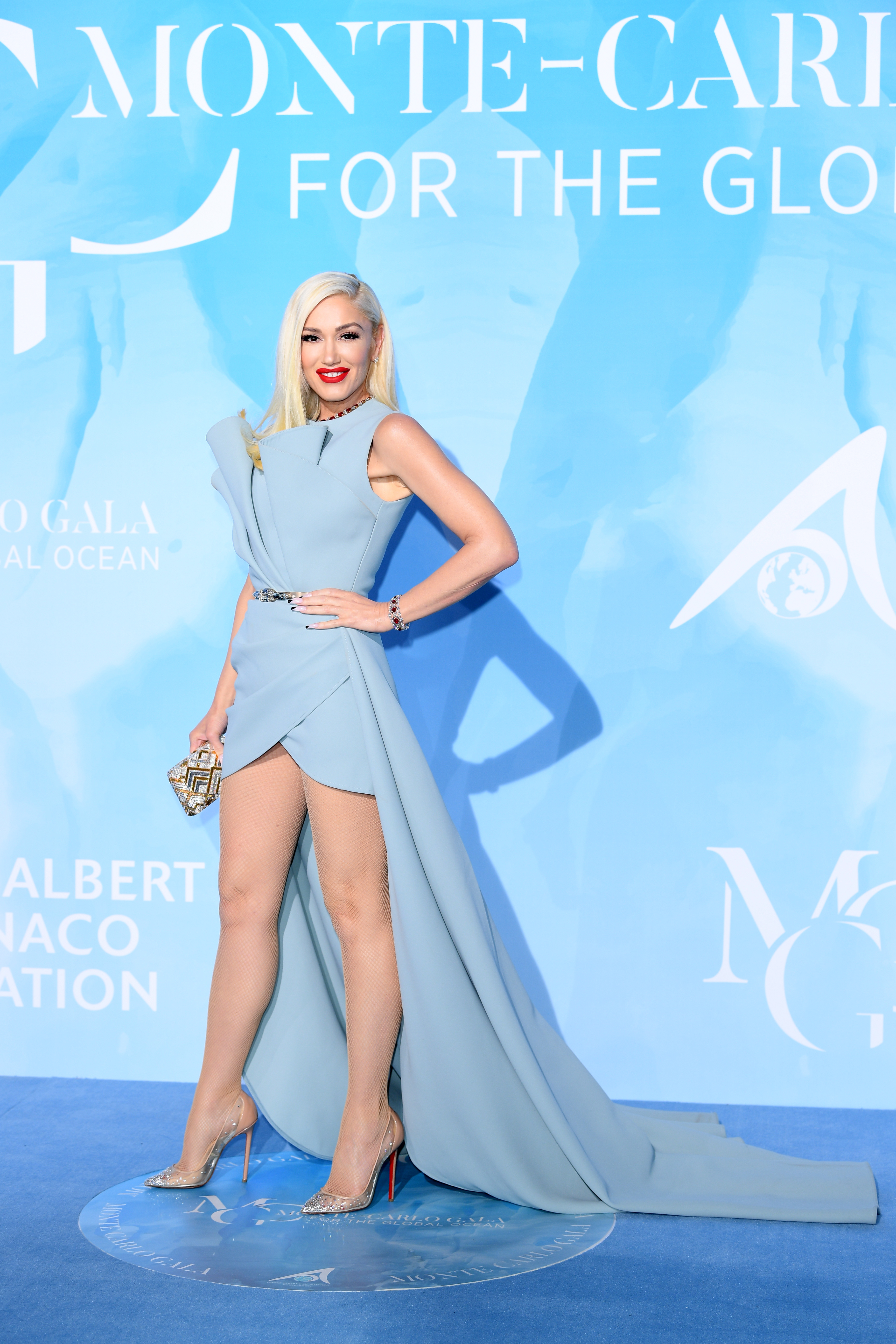 Gwen Stefani, look, Montecarlo